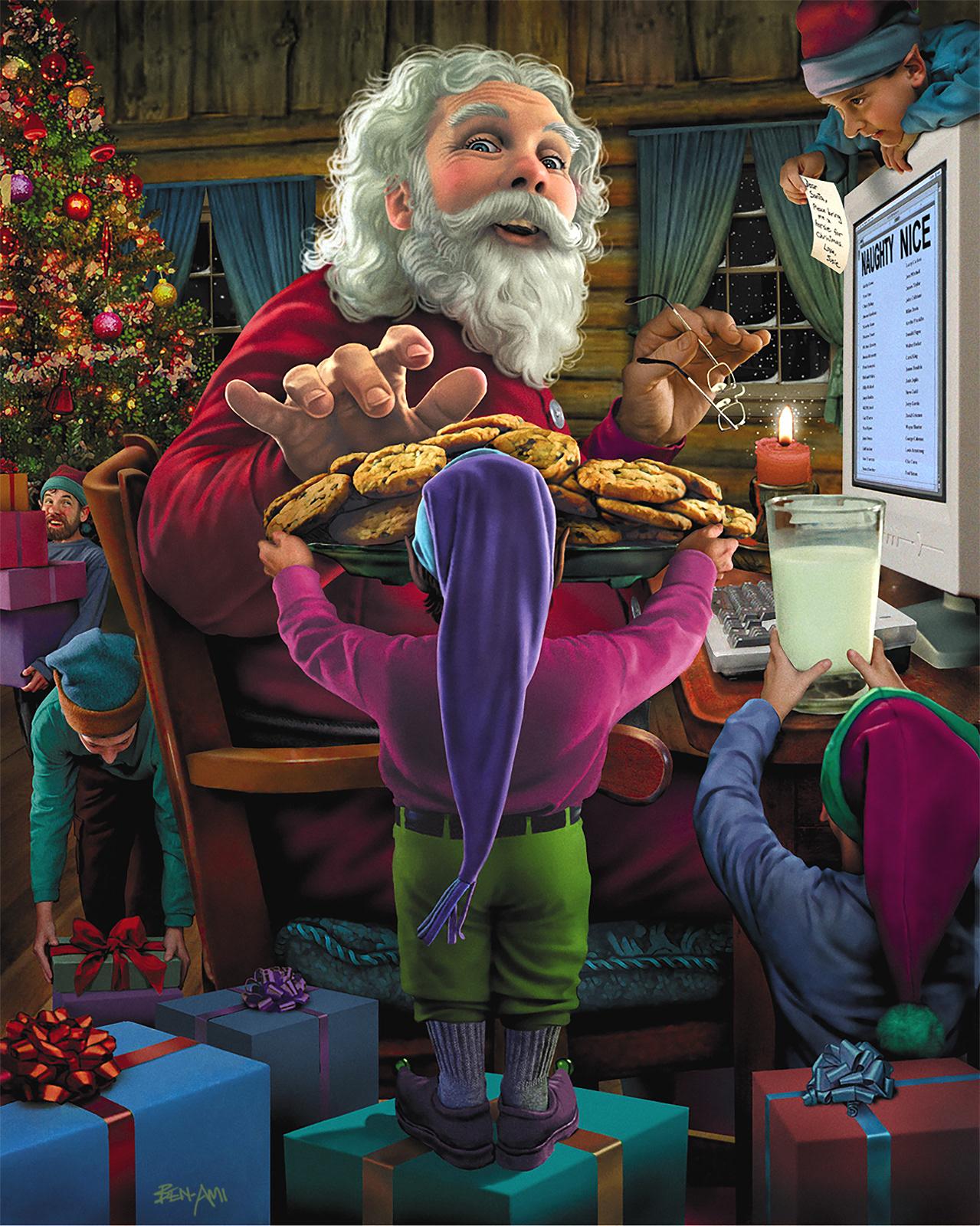 see santa clauss workshop - HD886×1098