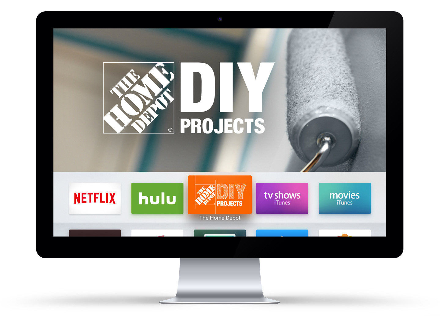 David bender home depot apple tv concept design of a new marketing channel with home depot dyi project teams creating an apple tv app for project videos targeted to do it yourself solutioingenieria Images