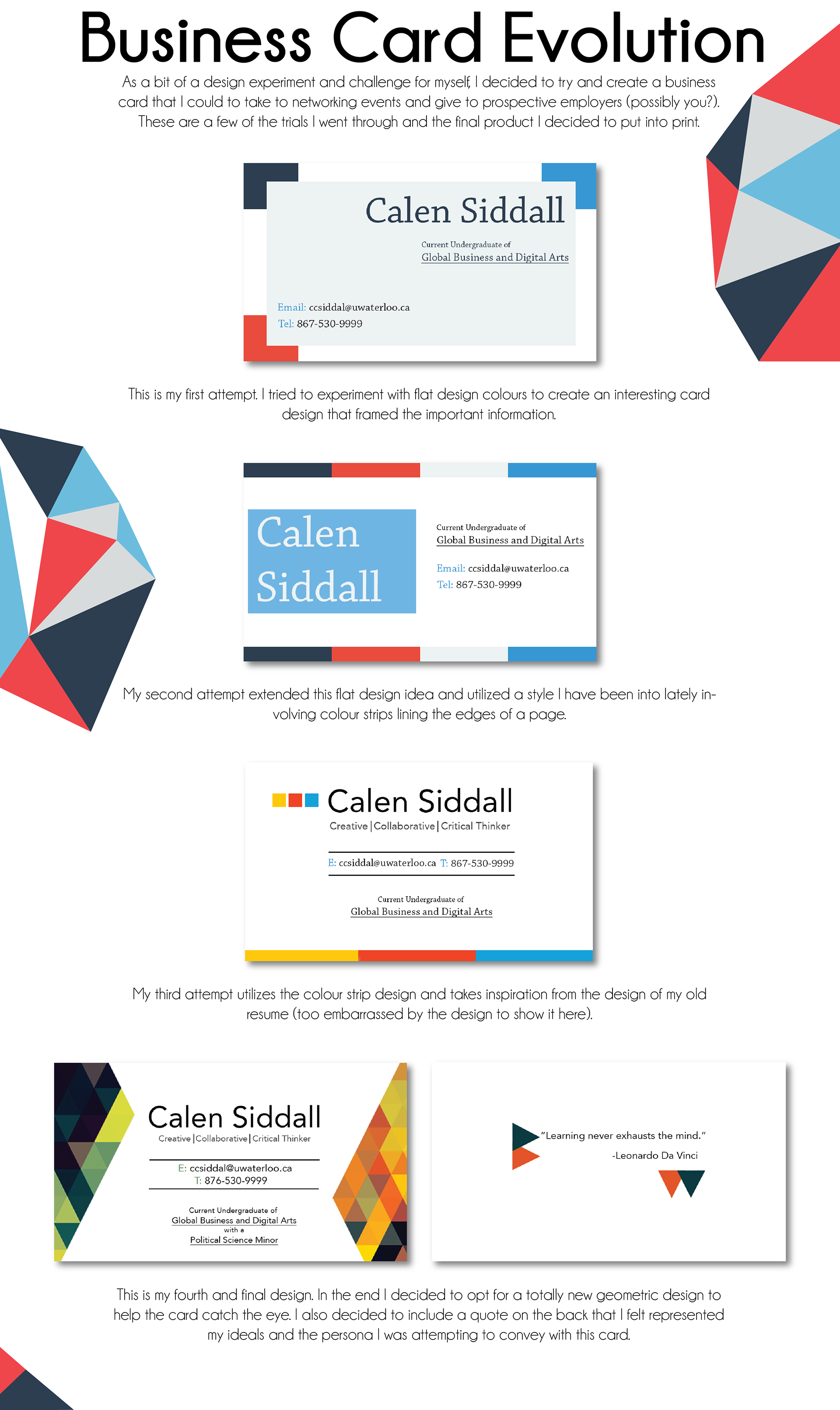 Calen siddall business card evolution colourmoves