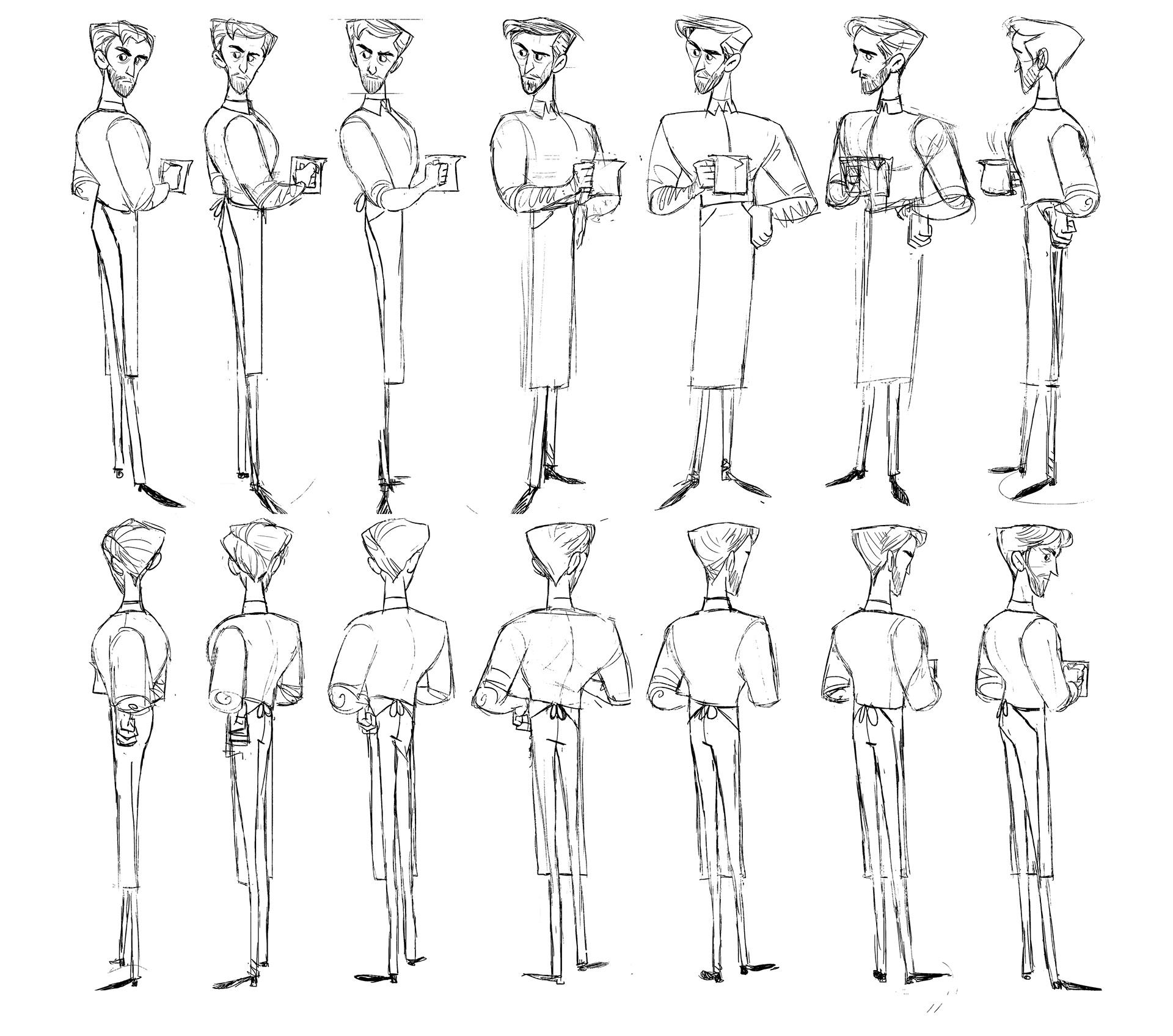 margaret spencer portfolio character design