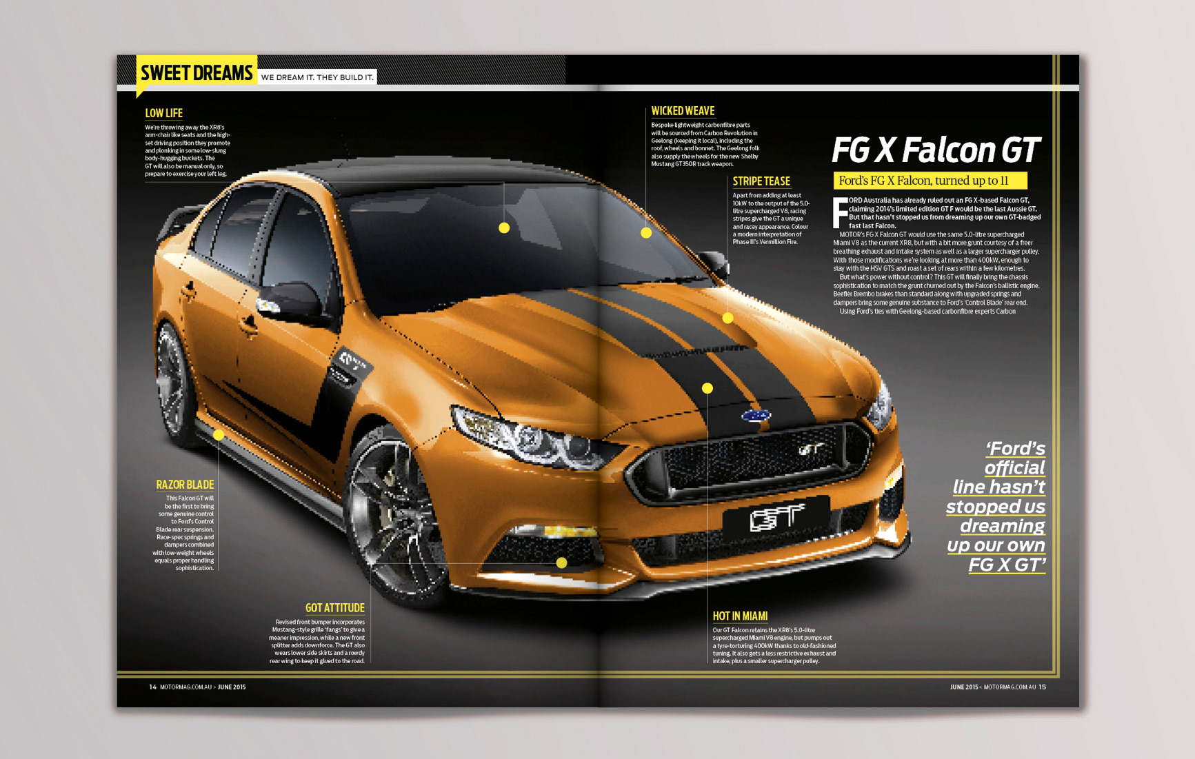 Martin Ixer - Motor Magazine - Redesign