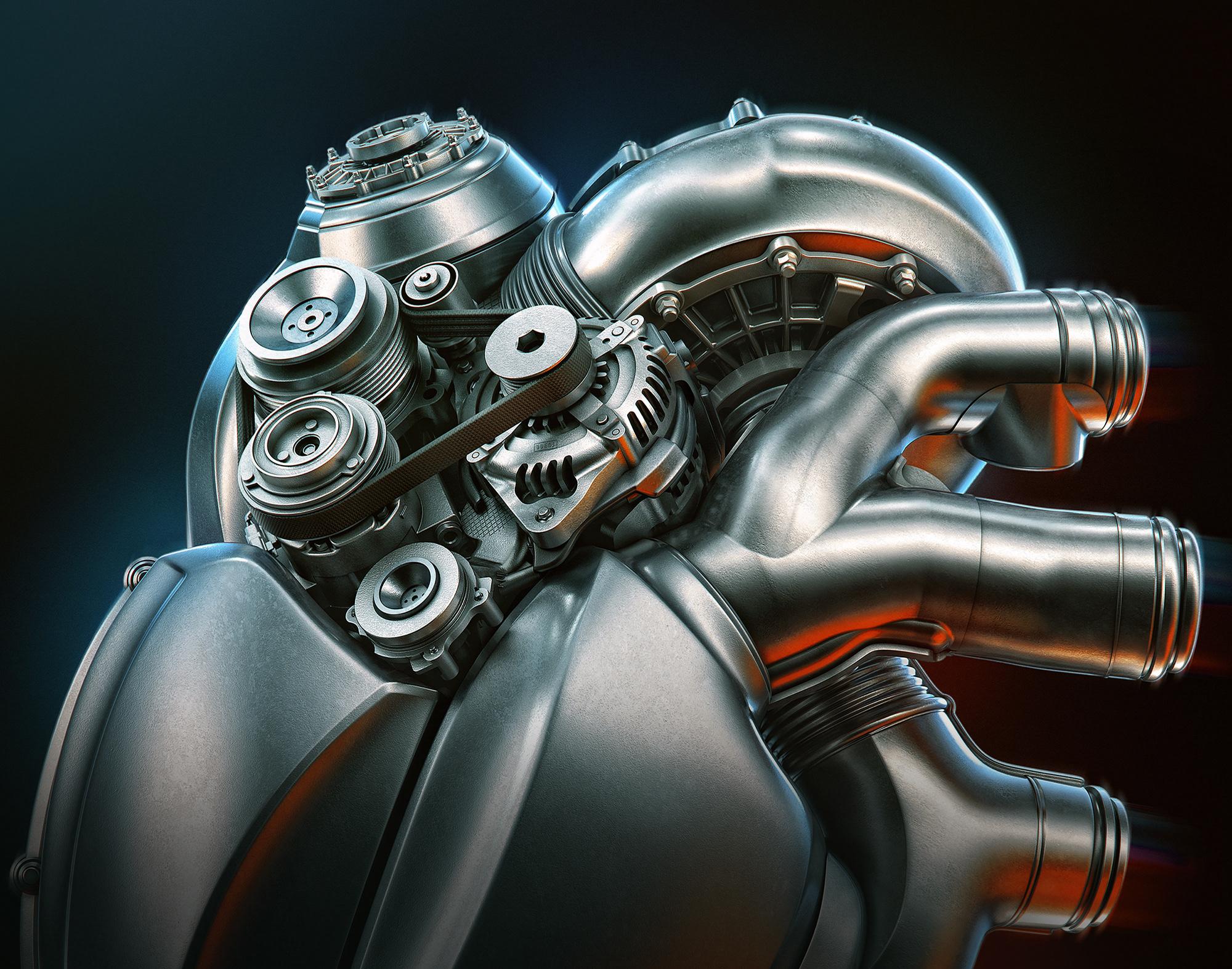 картинки в виде сердца-мотора сути, это было