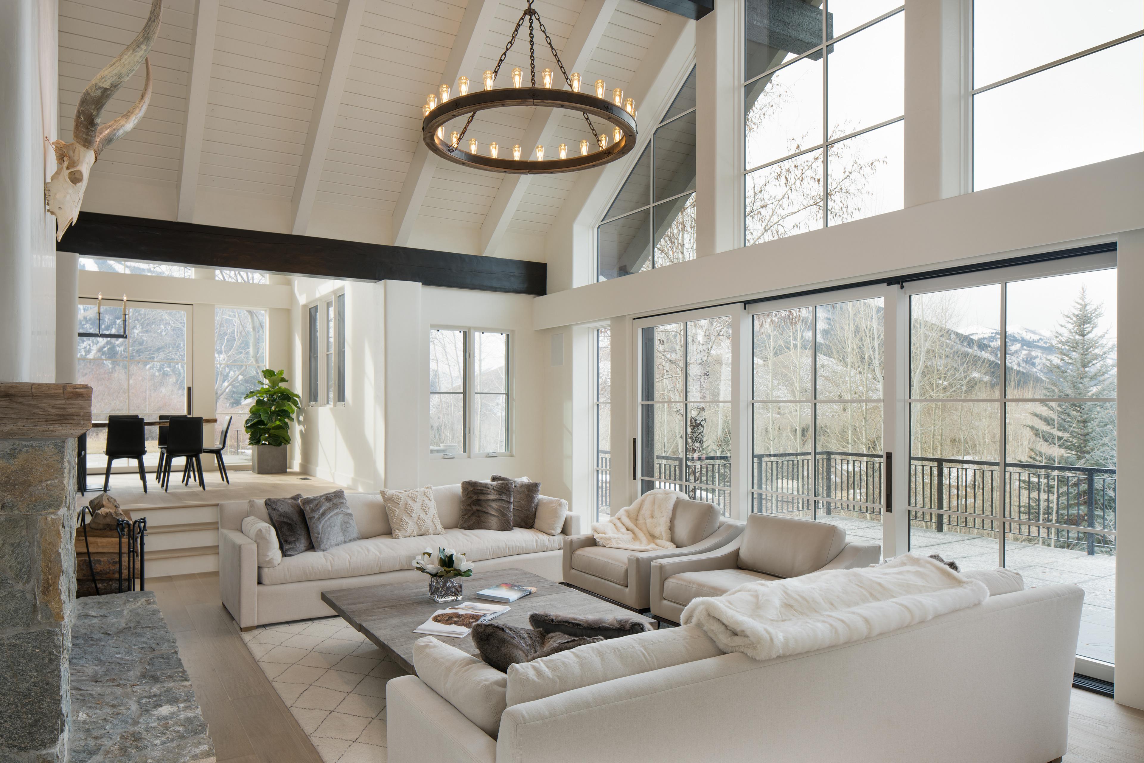 Sun valley mountain modern interior design