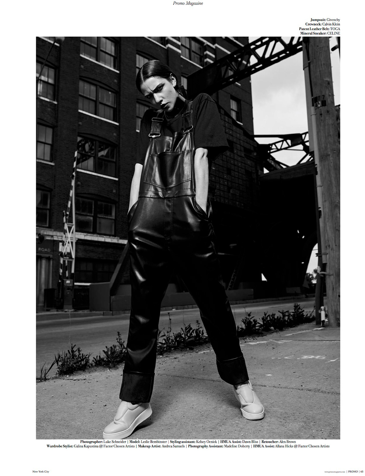 Luke Schneider - INDUSTRIALIZED | Promo Magazine