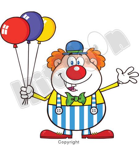 chudomir tsankov clown cartoon characters