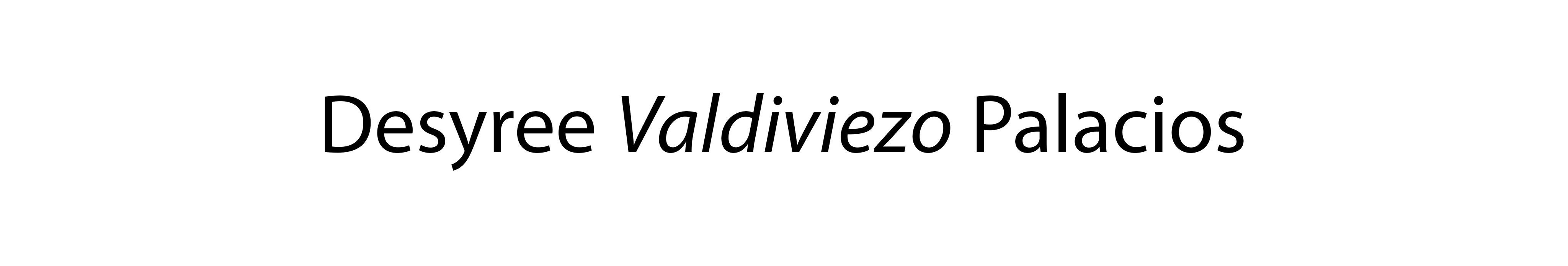 Desyree Valdiviezo