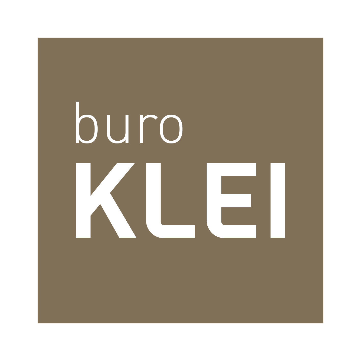 Buro Klei | cross media strategy & design