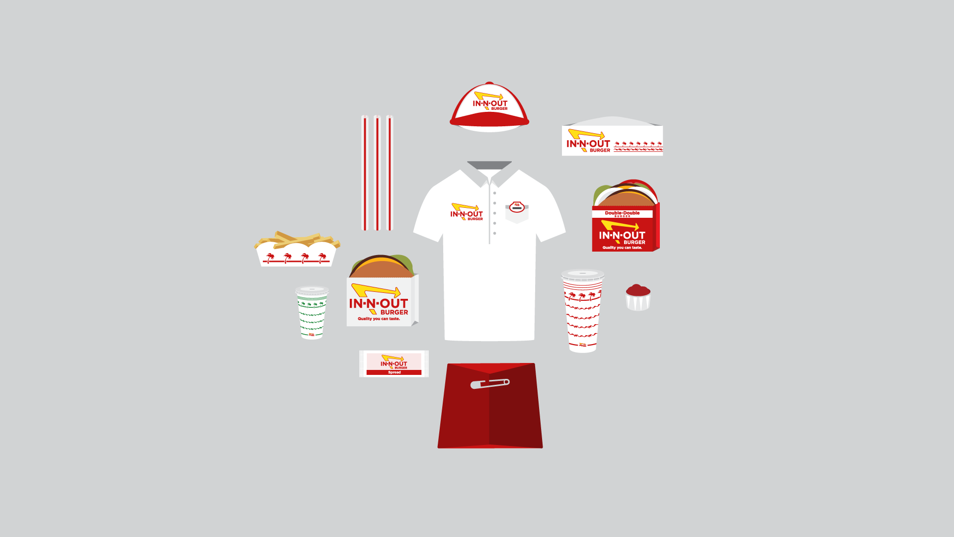 Rachel Kanahele - In-N-Out Burger (Icon Designs)