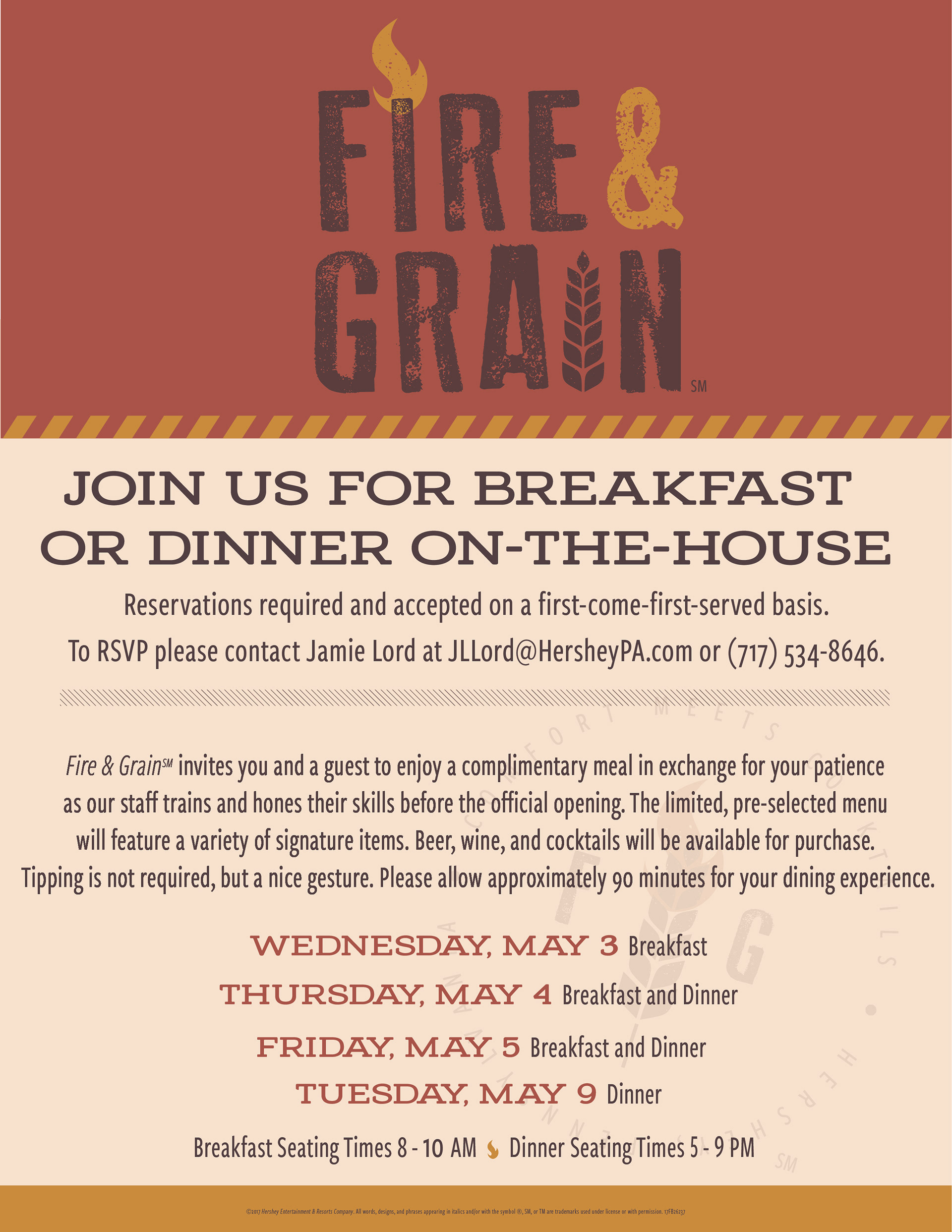 Chris vroman fire grain soft opening invite invite to attend the soft opening of fire grain restaurant stopboris Gallery