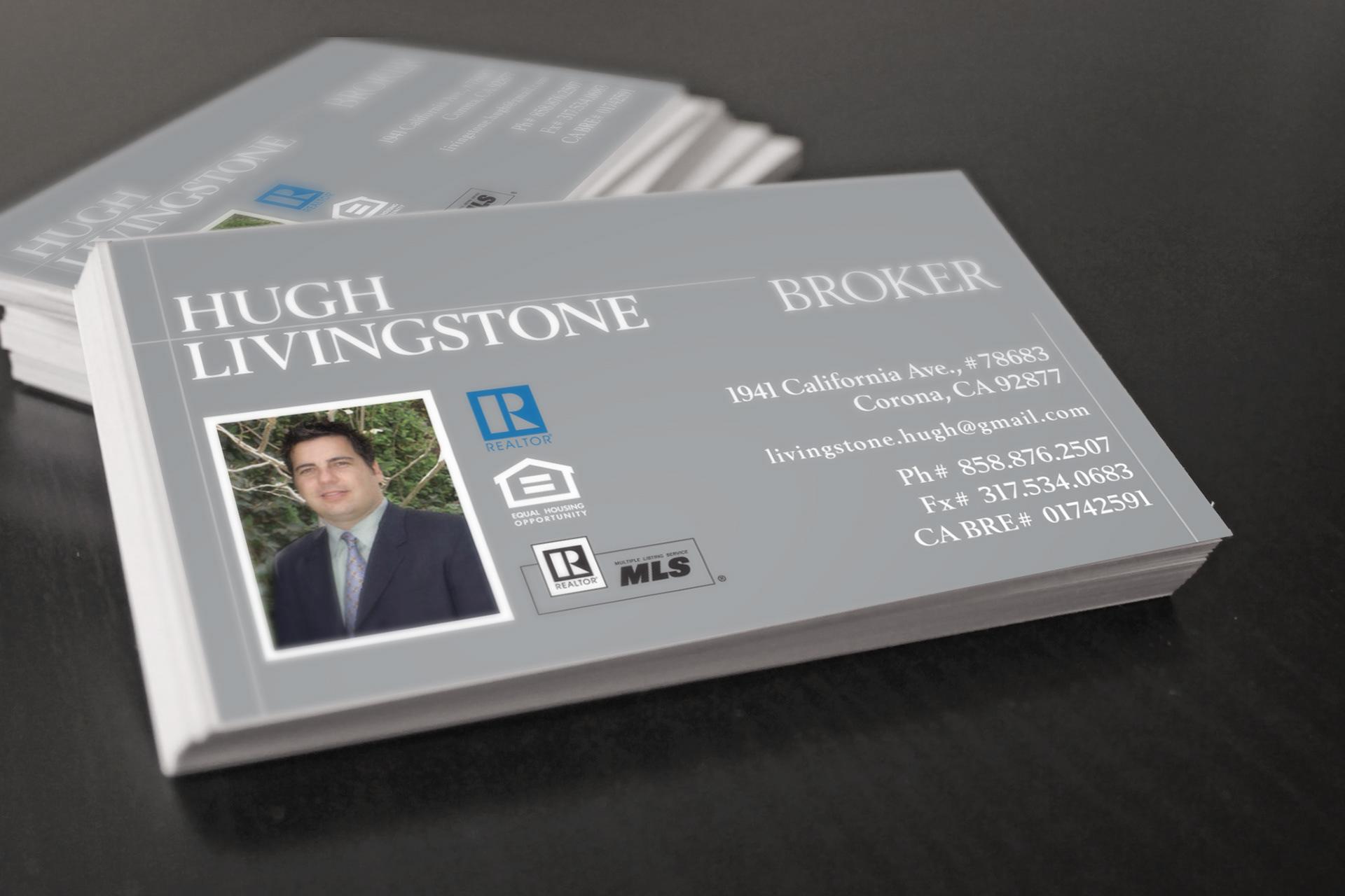 Greg cisneros goyo creative branding h livingstone real business card 1 reheart Choice Image