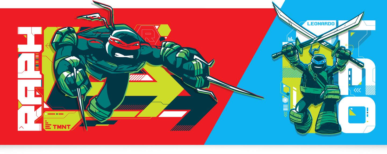 fraktal teenage mutant ninja turtles