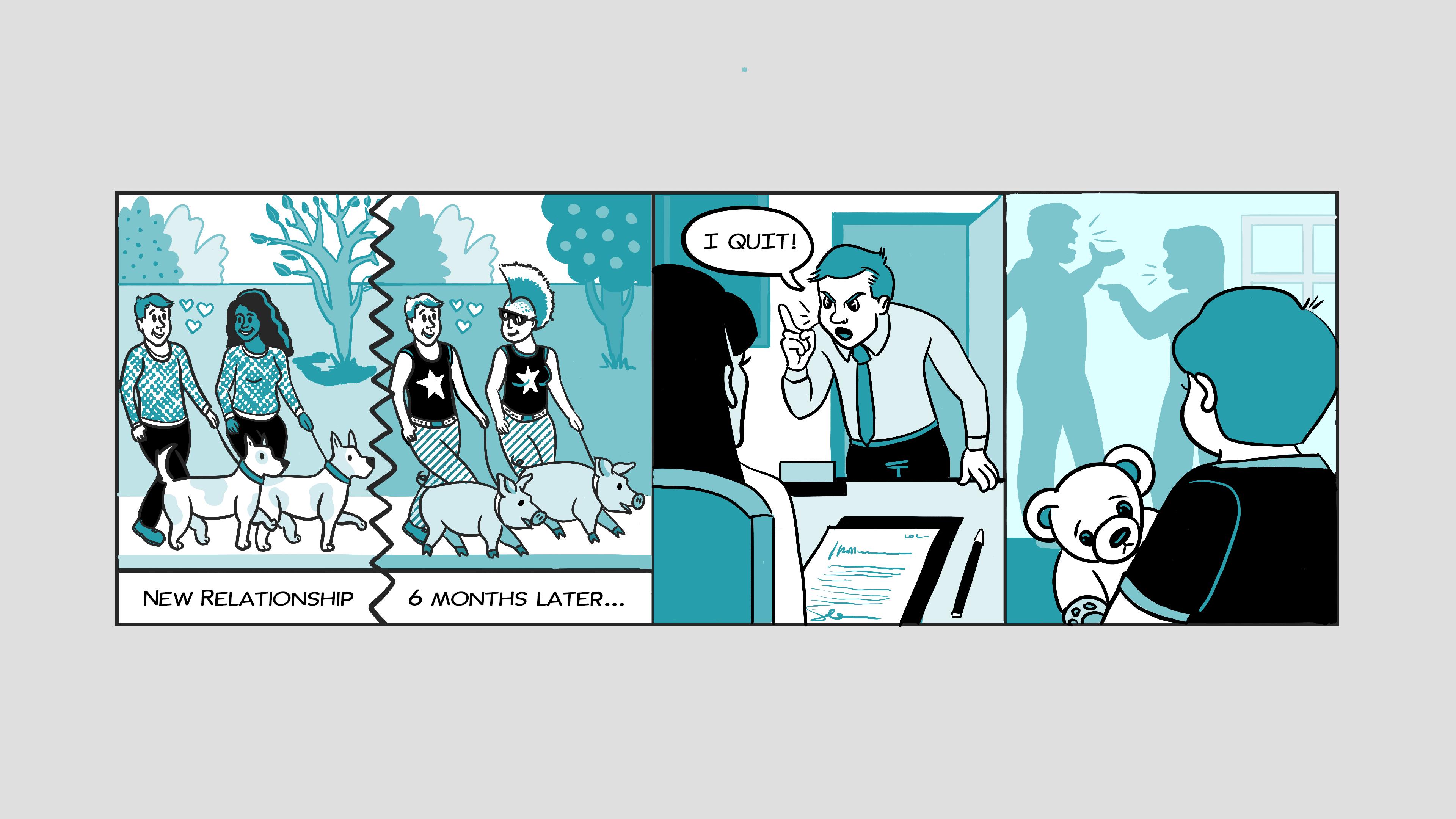 health-comic-strip