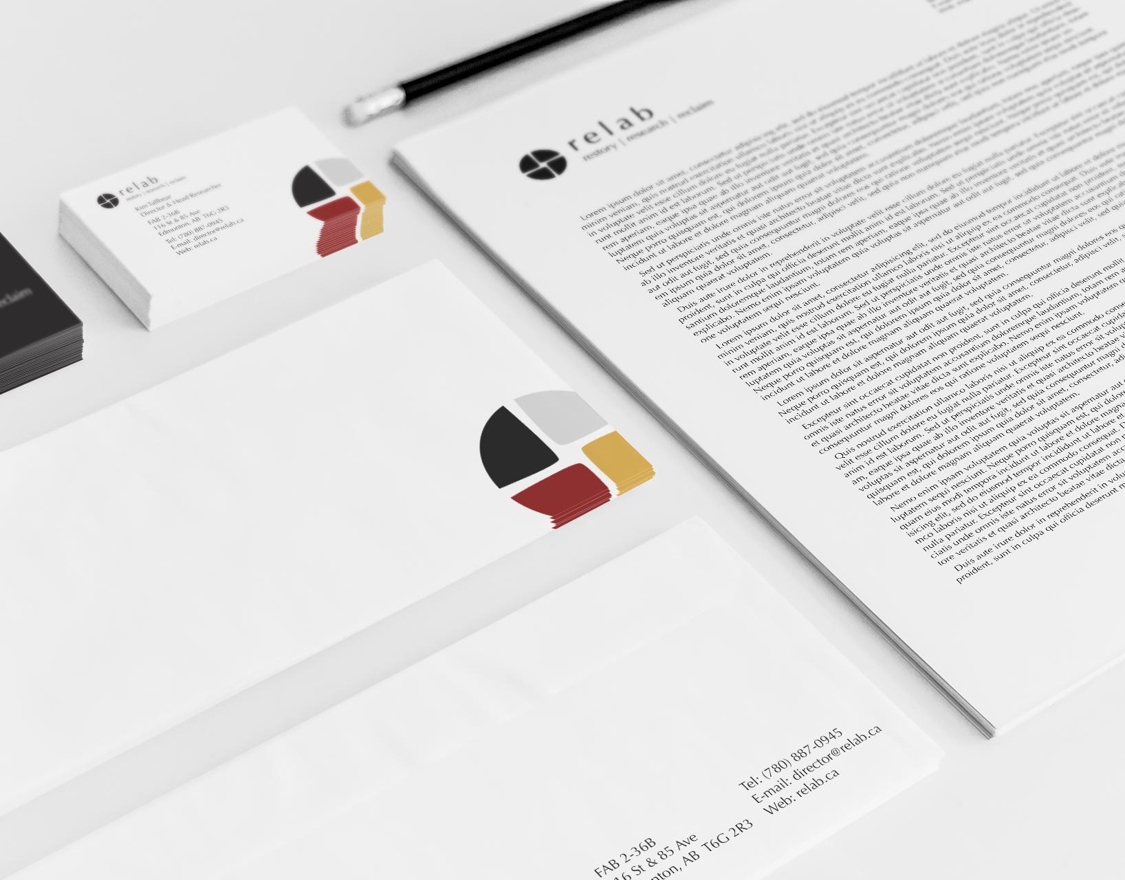 Anna Guzik - Relab Logo Design