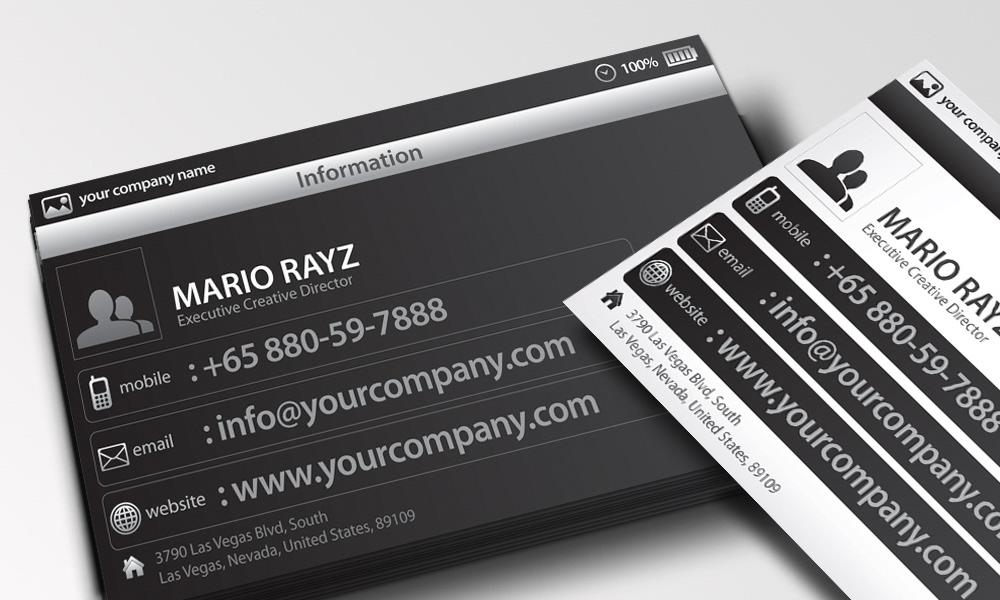 Lemon Graphic | Singapore business card, graphic design, designer ...