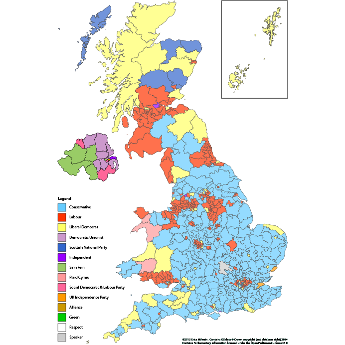 Map Of Uk General Election Results.Erica Milwain Uk Election Results 2015