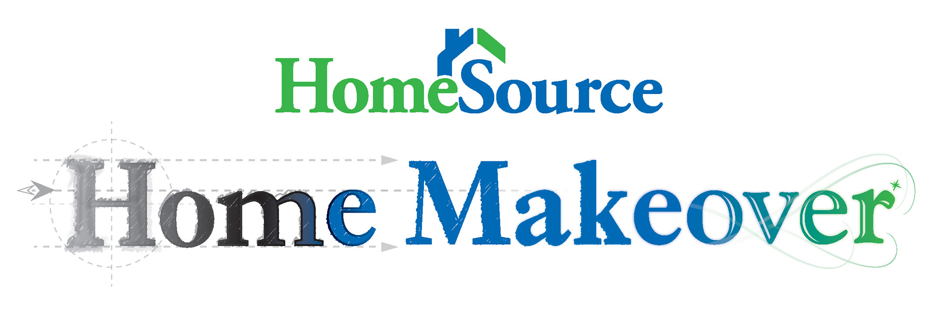 Michael Teal - Home Makeover Logo Design