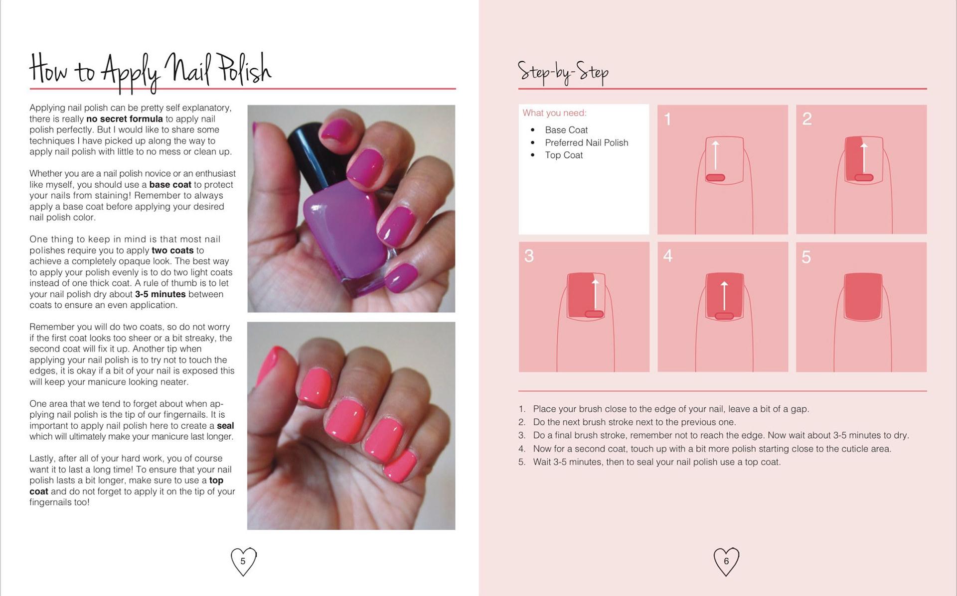Liliana del cid nail art basics book prinsesfo Images