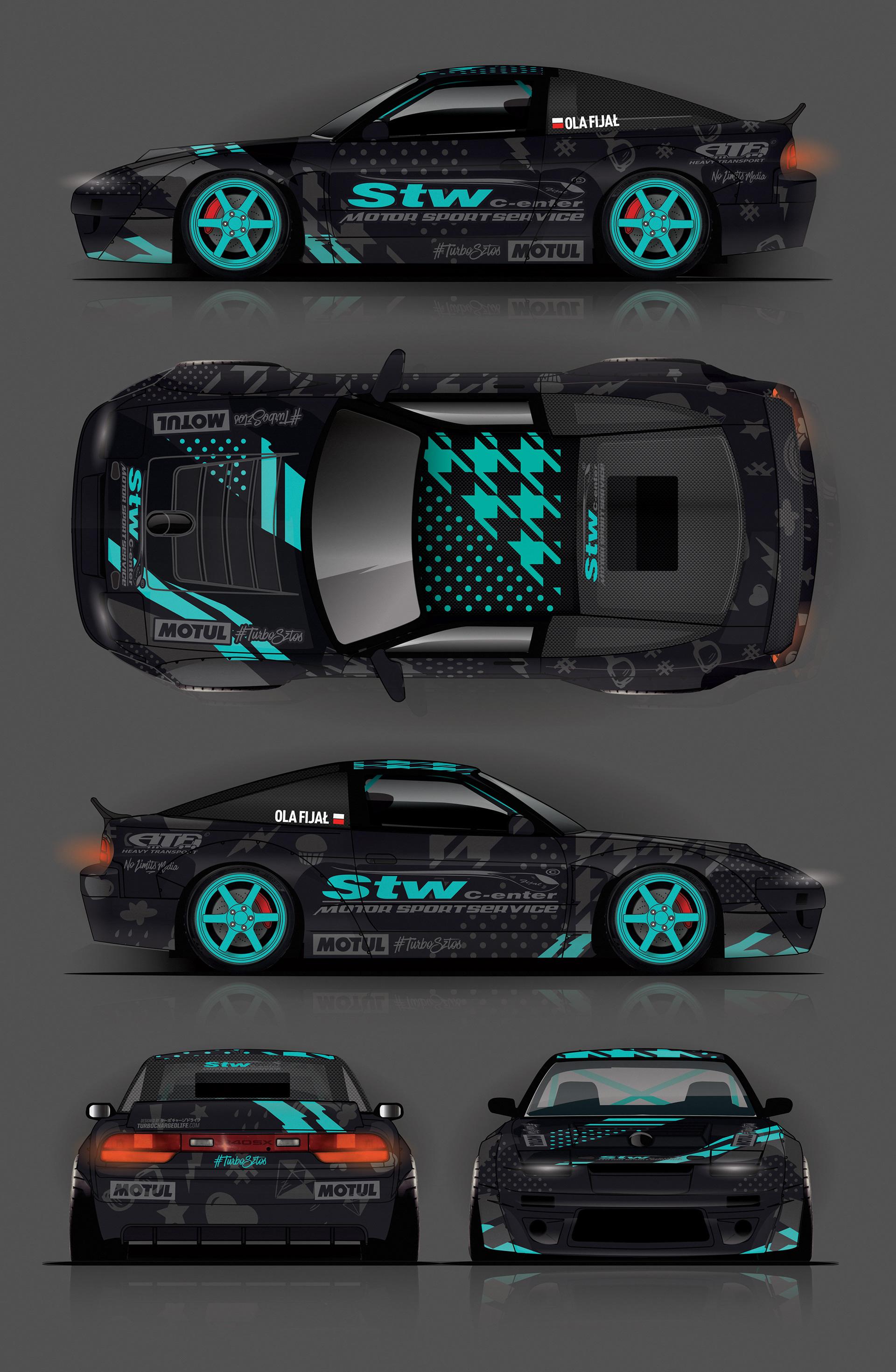 Motorsport Web Design