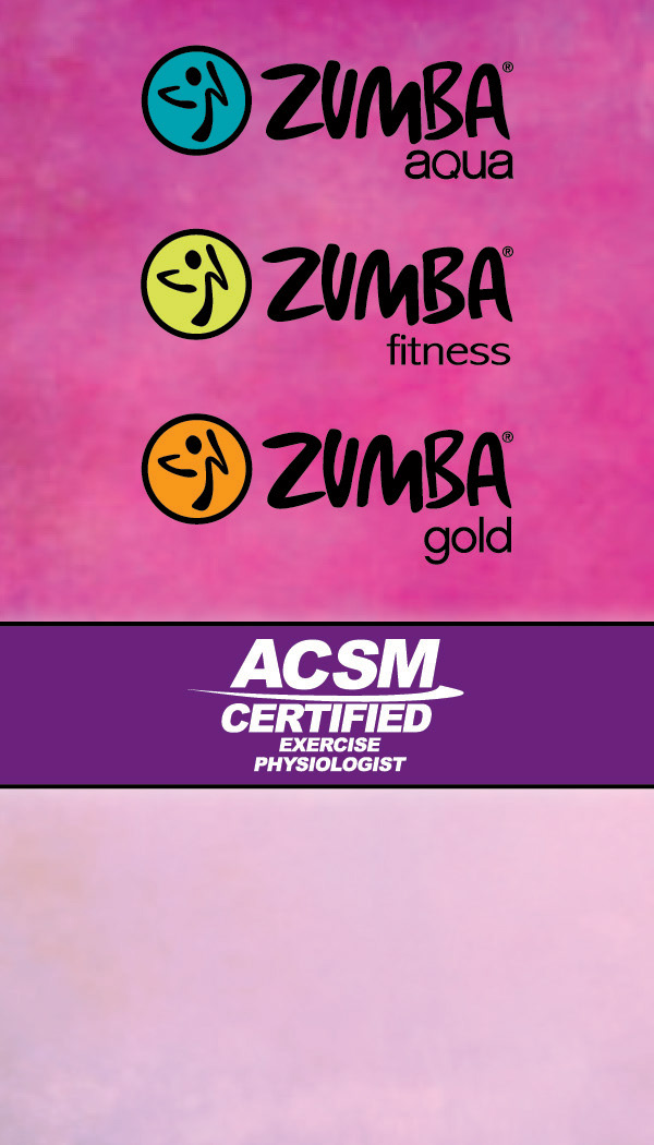 Hannah McEnroe - Zumba Business Cards