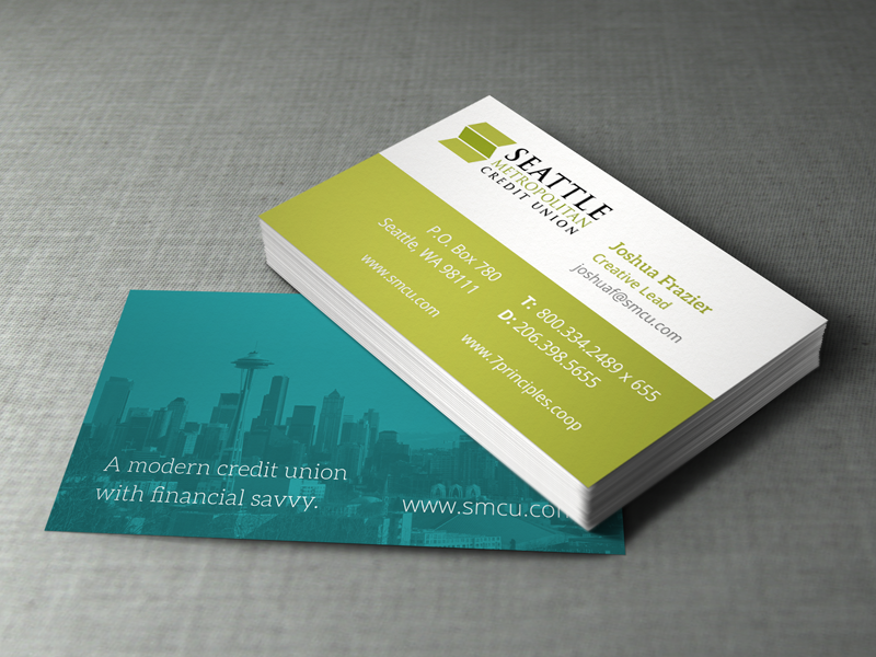 Kyle chicoine graphic designer seattle metropolitan credit union business card mockup v1 colourmoves