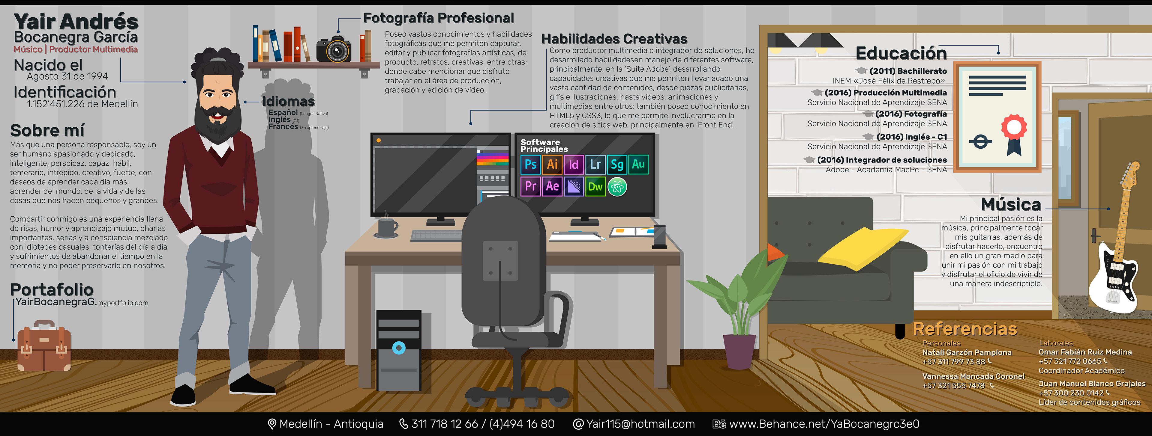 Yair Andrés Bocanegra García   Portafolio - Currículum Vitae