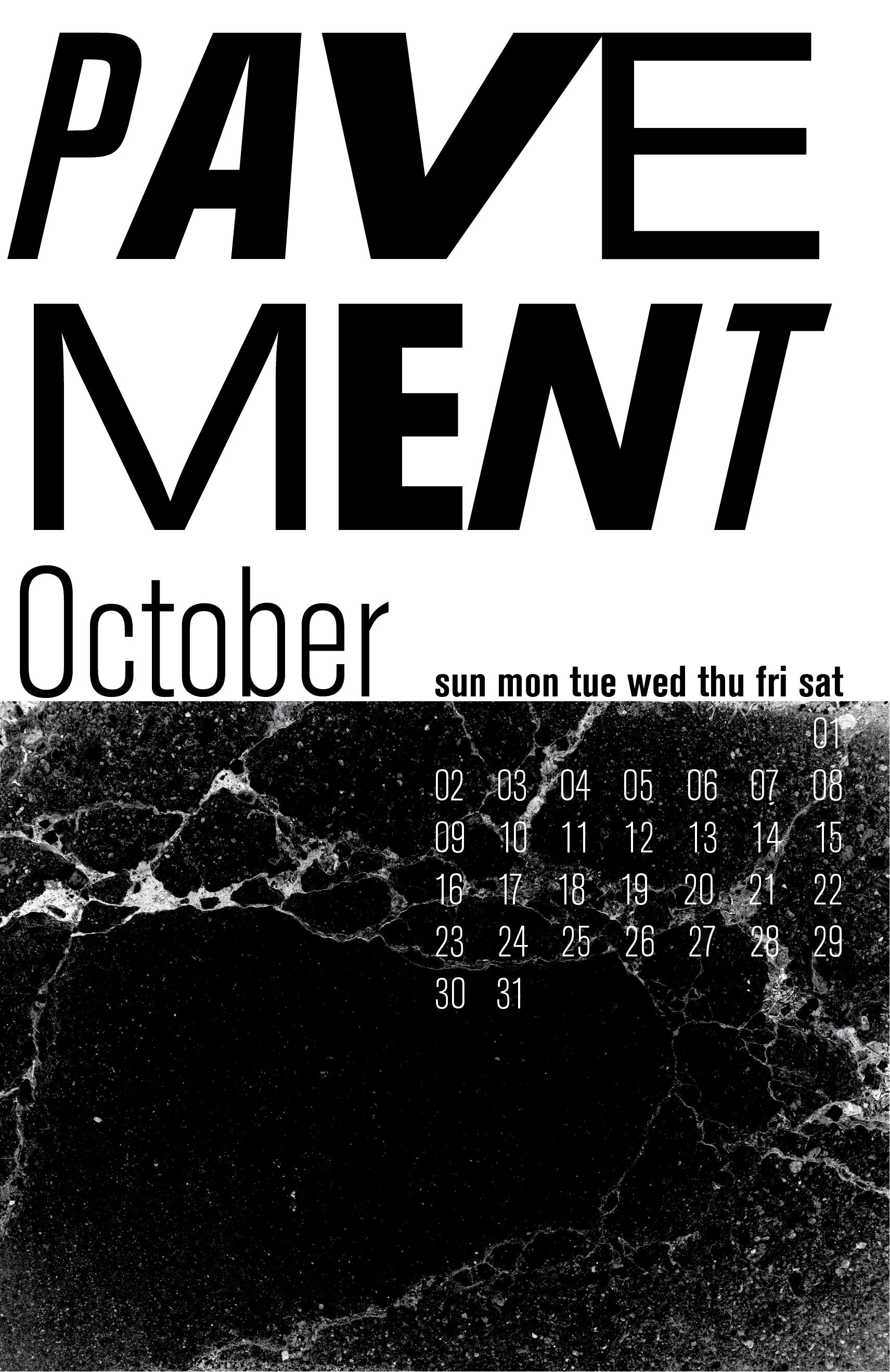 Keith Miller - 90's Alternative Calendar