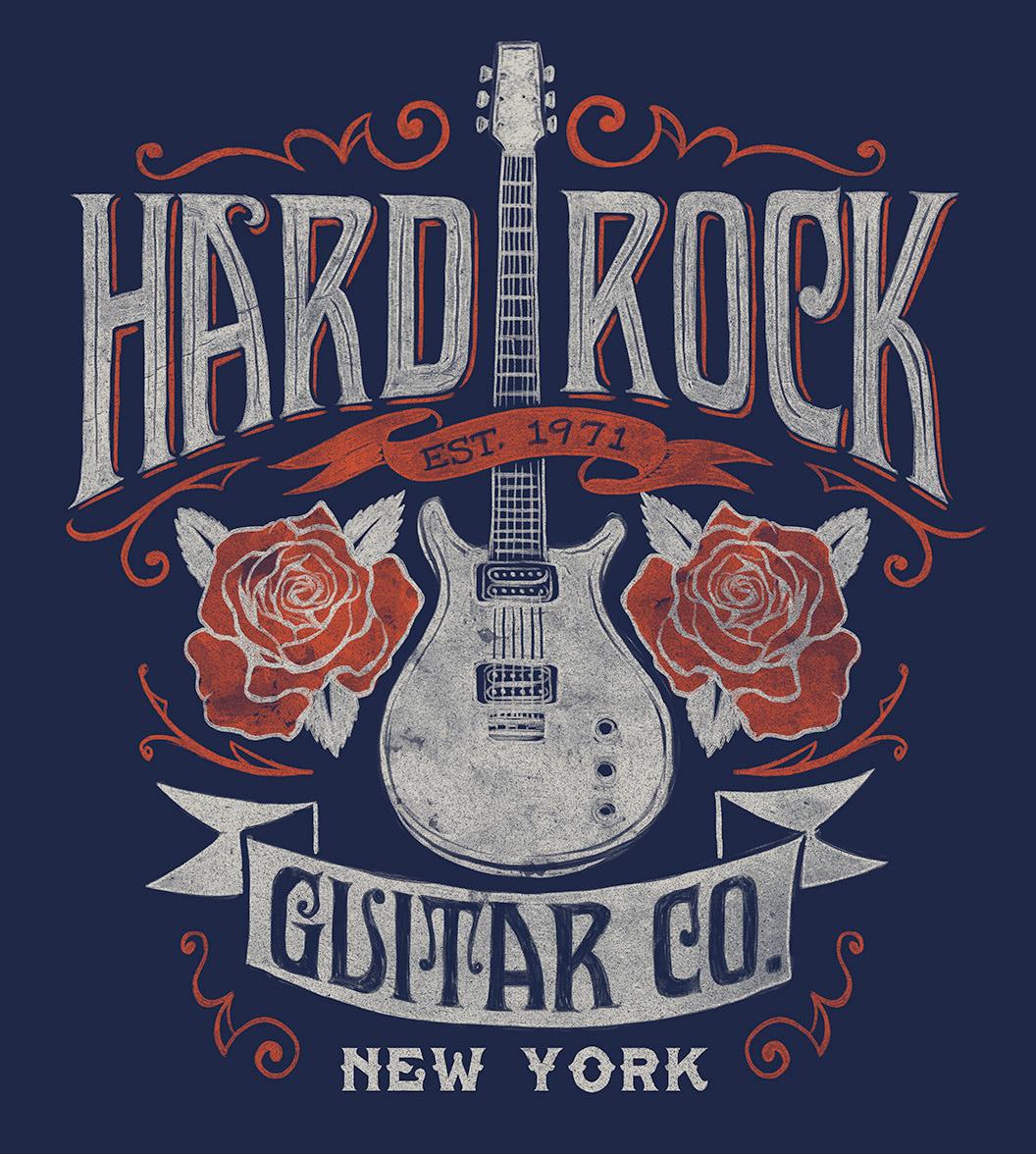 Michael Hinkle Graphic Design And Illustration Hard Rock T Shirt