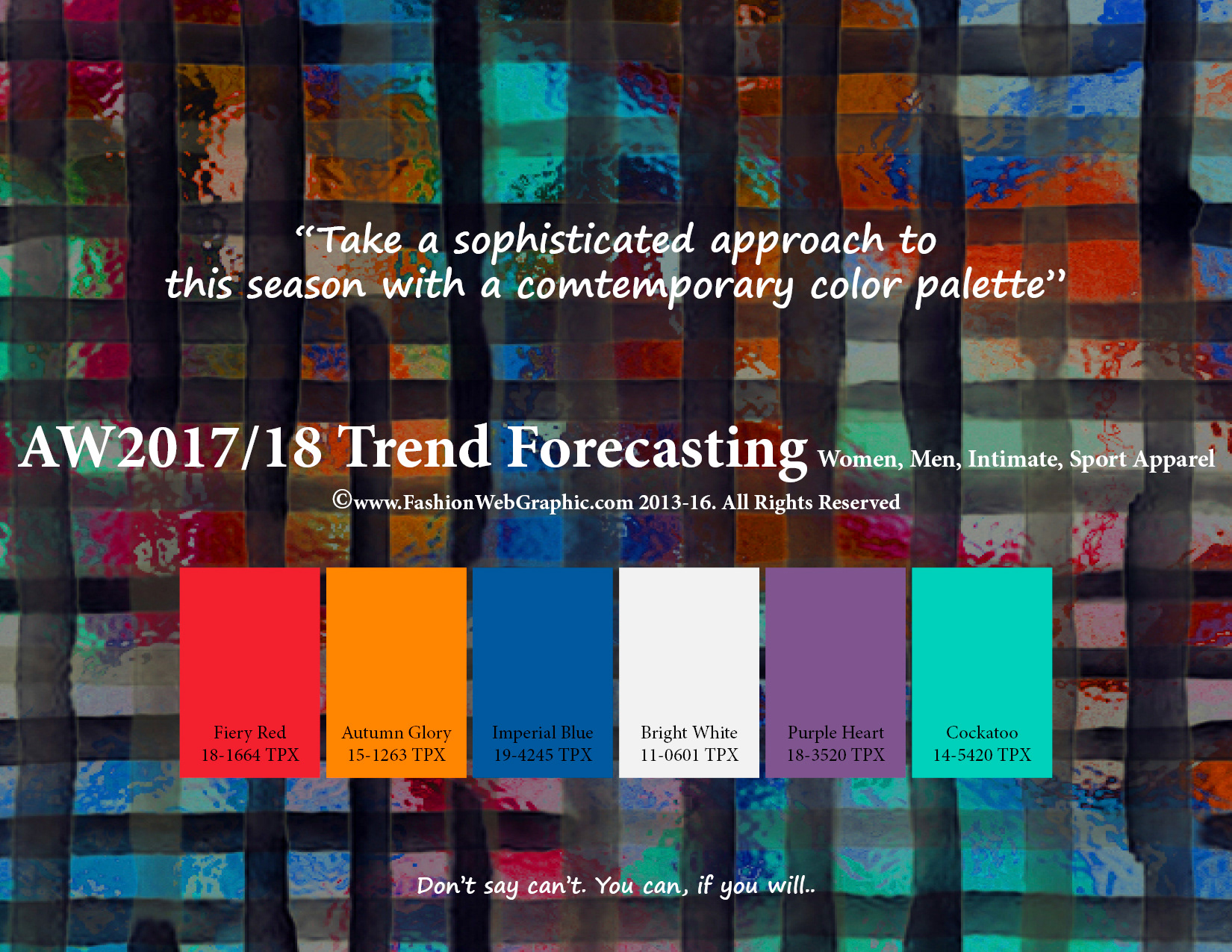 Color forecast for autumn winter 2018 my blog for 2018 winter colors