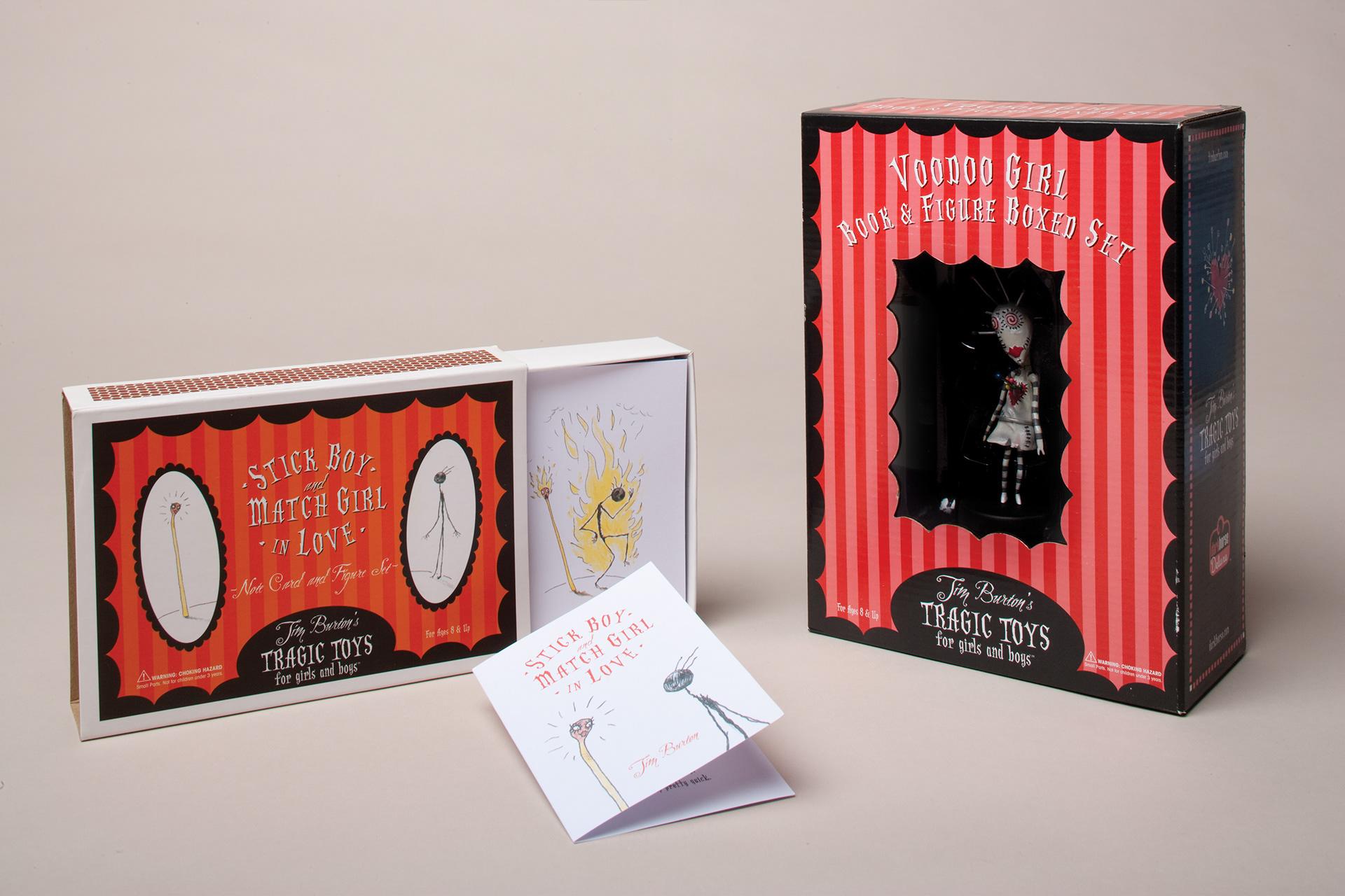 Lani Schreibstein Visual Designer Tim Burton s Tragic Toys for