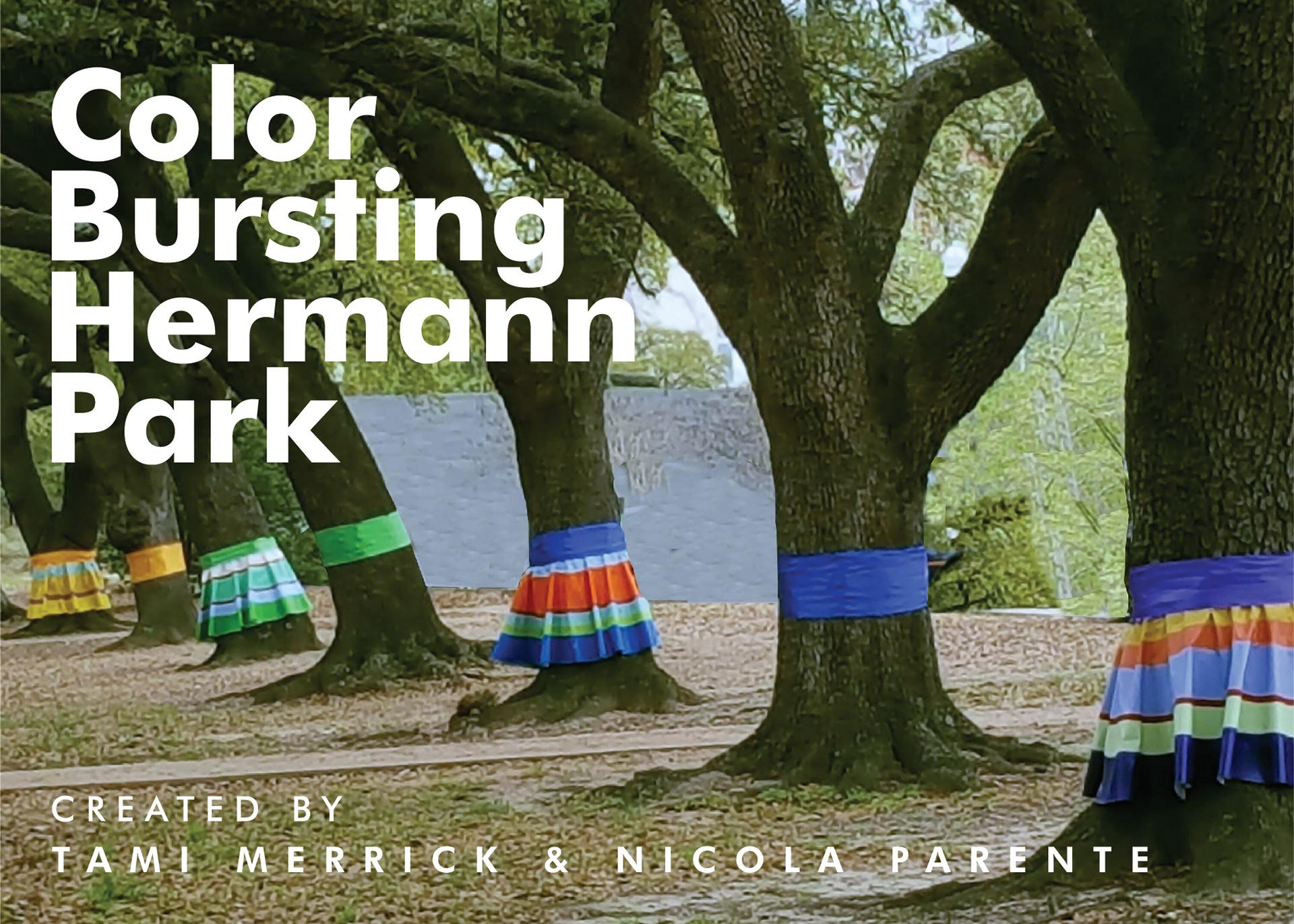 Art Uniti - Color Bursting Hermann Park
