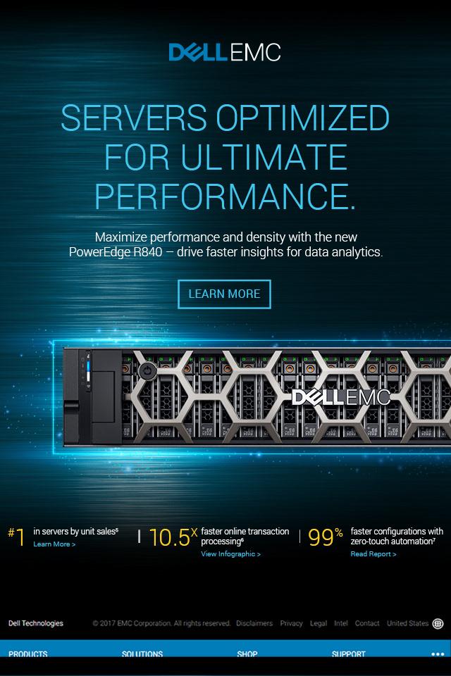 LOUISE BOVA DESIGN - Dell EMC R840 Server