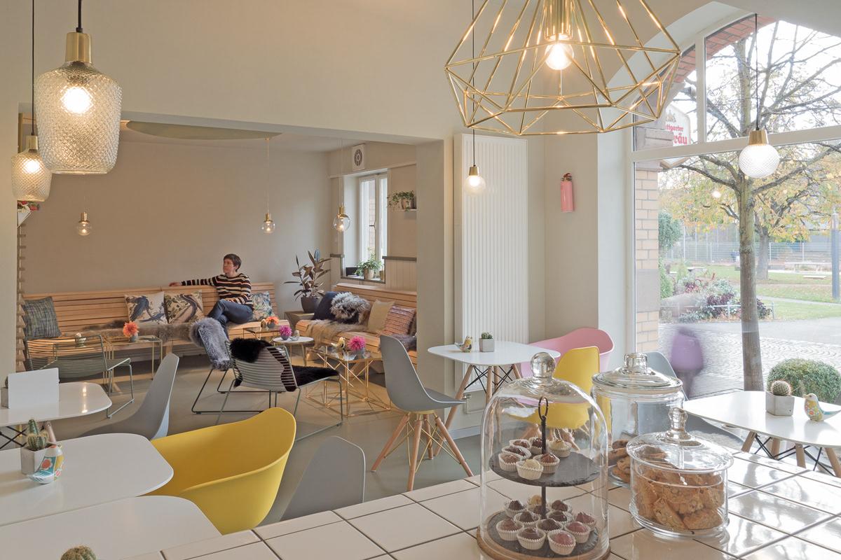 Innenarchitektur Cafe studio 211 architektur innenarchitektur café kauz