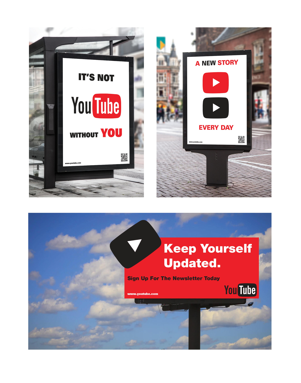 Poster design youtube - Youtube Online Newsletter Design