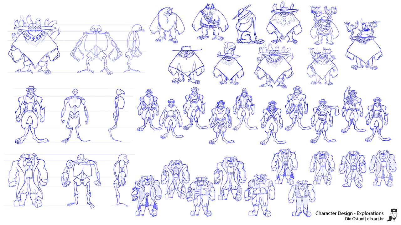 Character Design - Explorations