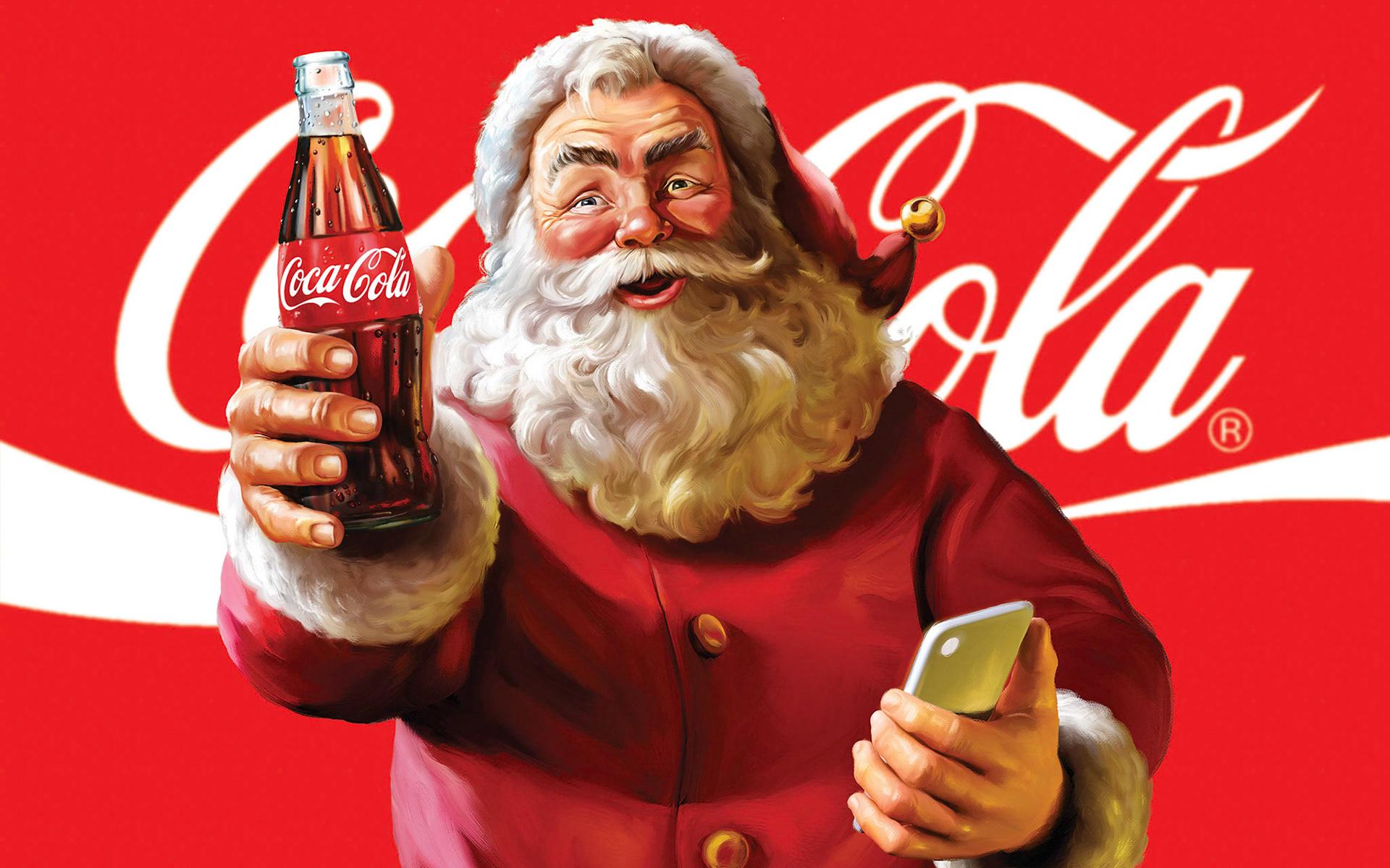 Открытки от кока-колы