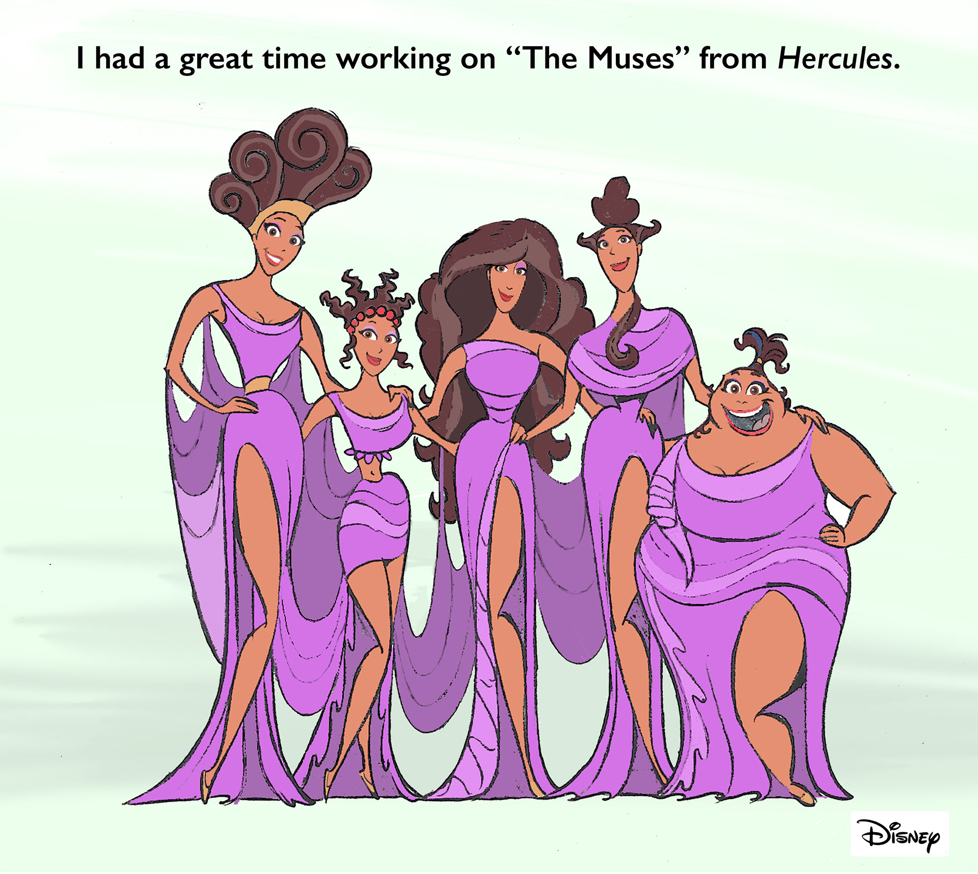 michael show the muses