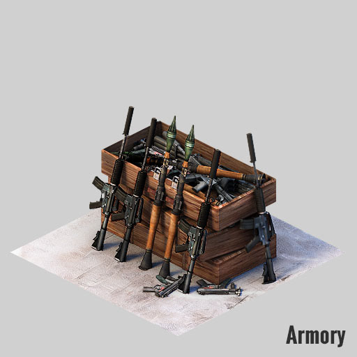 Sameer Baloch - 3D ASSETS FOR ISOMETRIC GAME 02