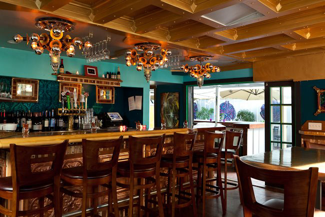 interior design art direction and complete construction services for restaurant in key west florida - Key West Interior Design