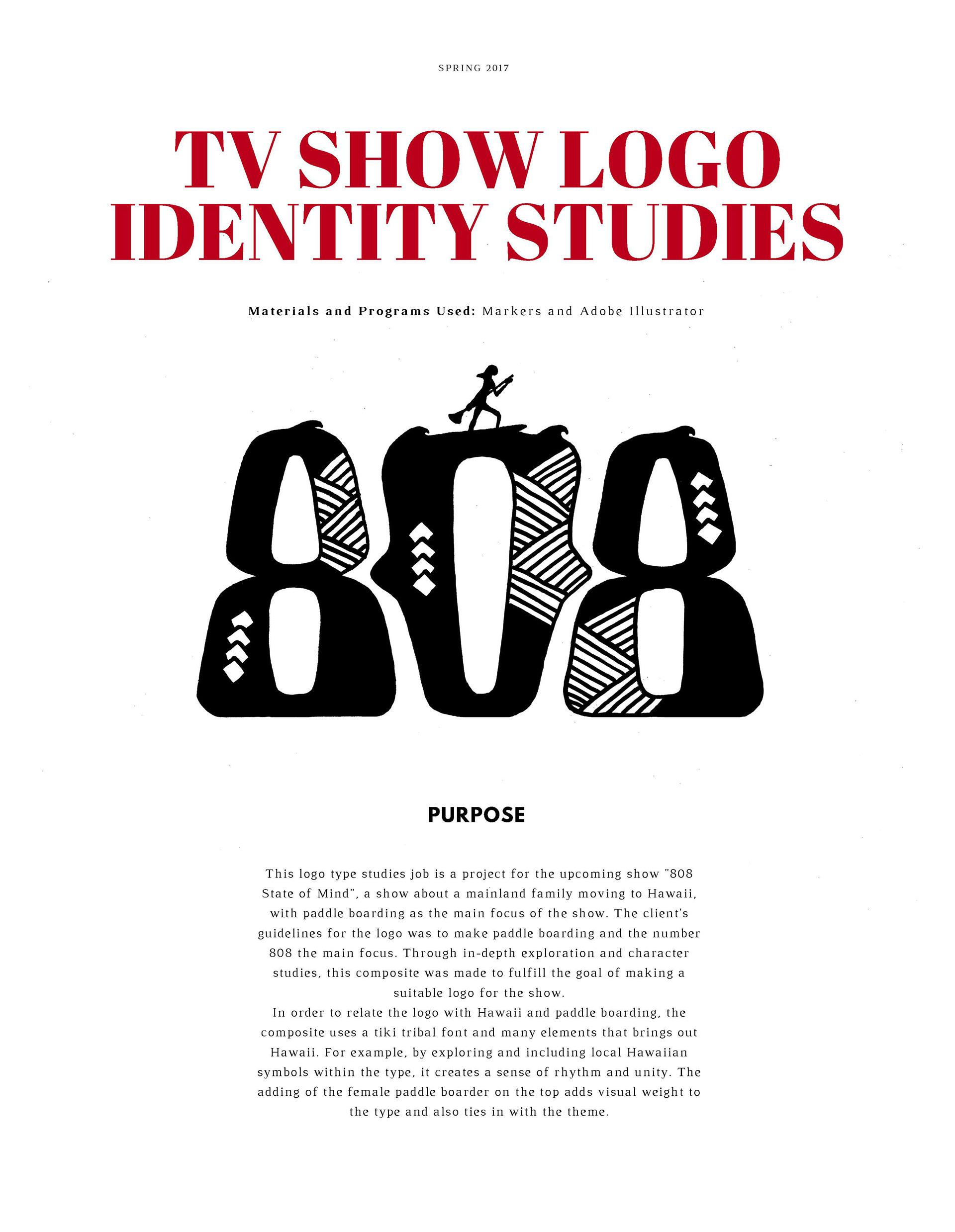 Katy Chung Tv Show Logo Identity Studies