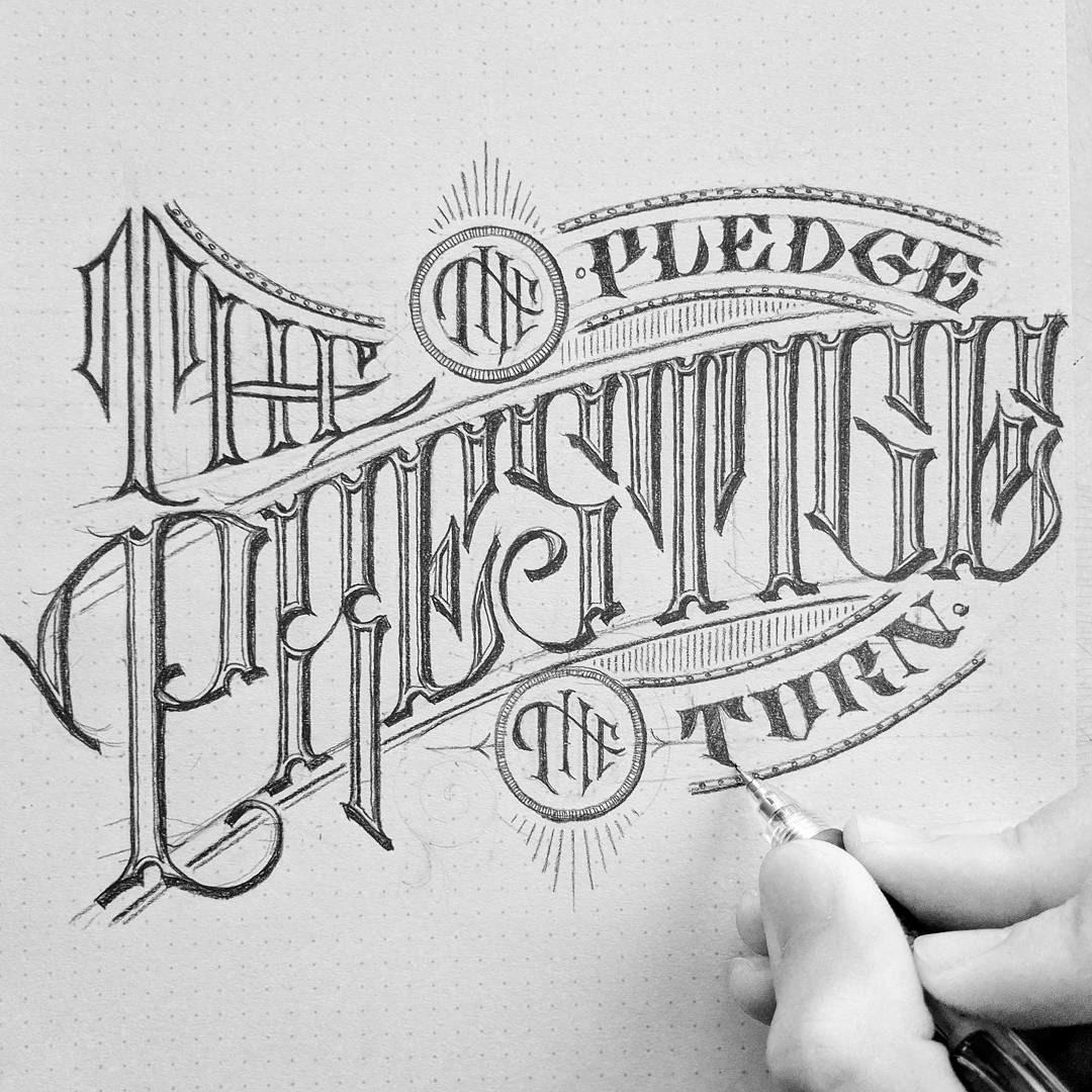 Jon benson designs lettering sketches 2017 lettering sketches 2017 altavistaventures Image collections