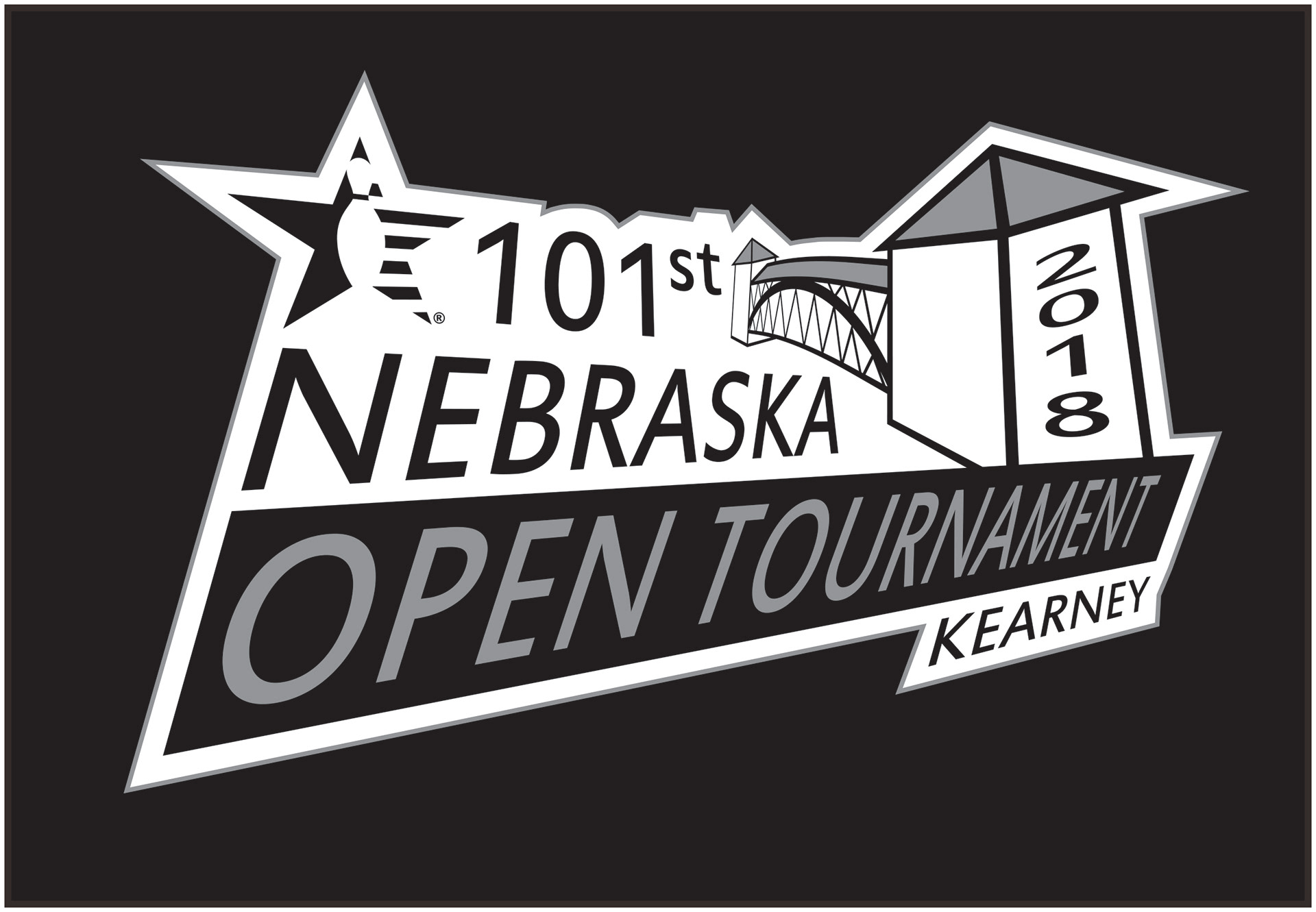 Eric Behrendt Portfolio Nebraska Usbc 101st Open Tournament Logo