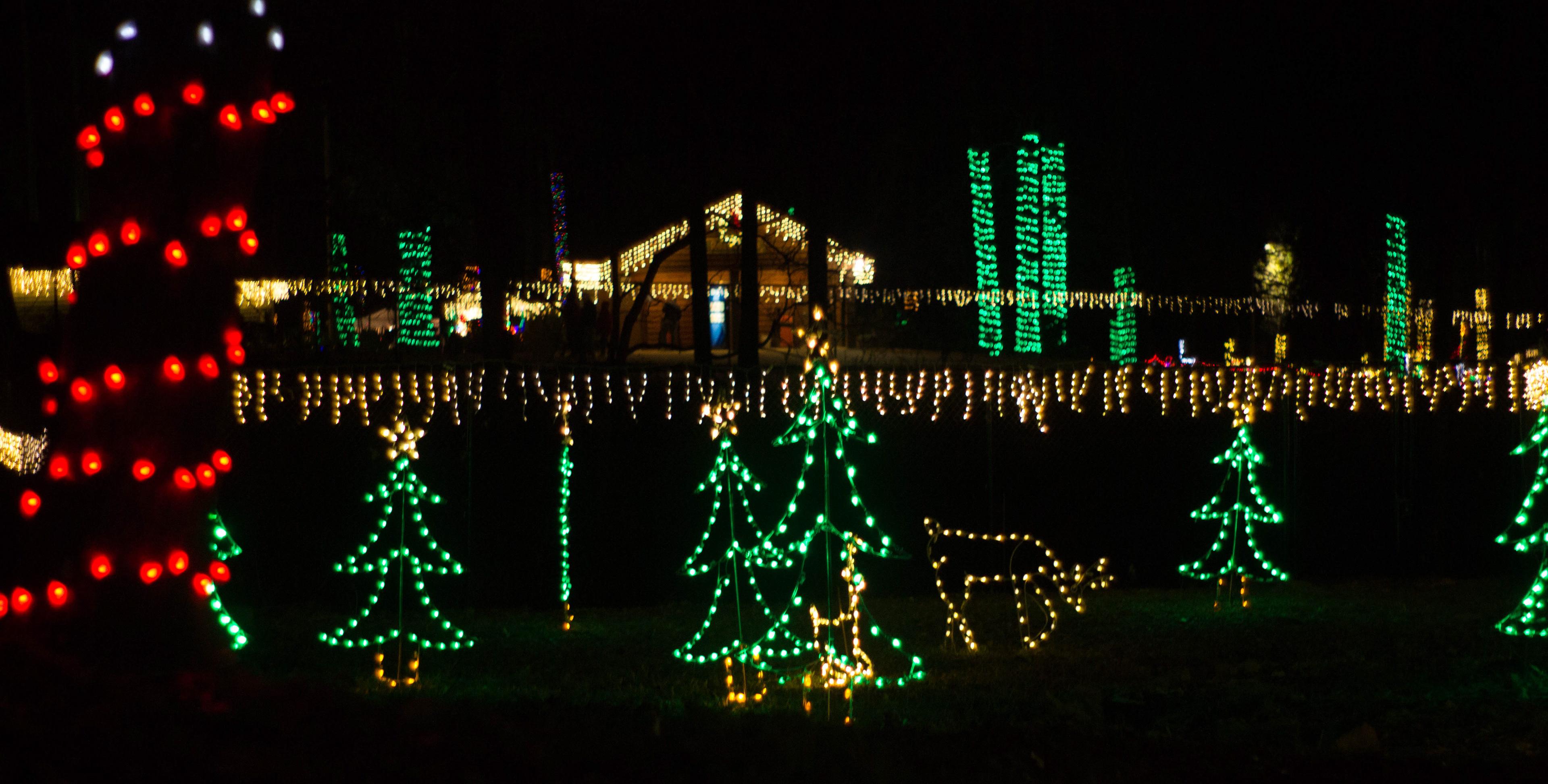 Expanse Productions - Christmas at the Falls | Noccalula Falls Park ...