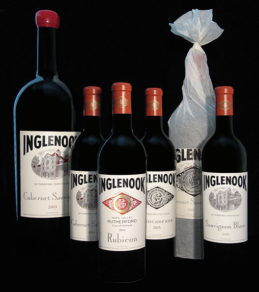 The Inglenook Line Of Wines All Are Based On Original Label Designs But Updated With New Logos Typography And In Two Cases An Etching