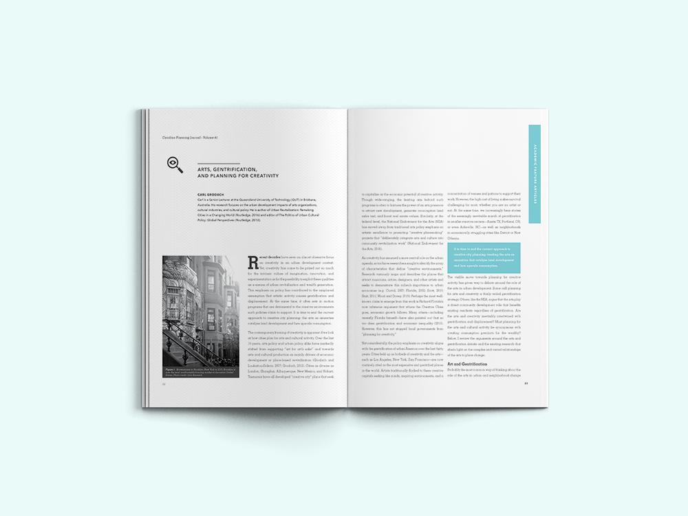 Audrie Lathrop Creative - Carolina Planning Journal
