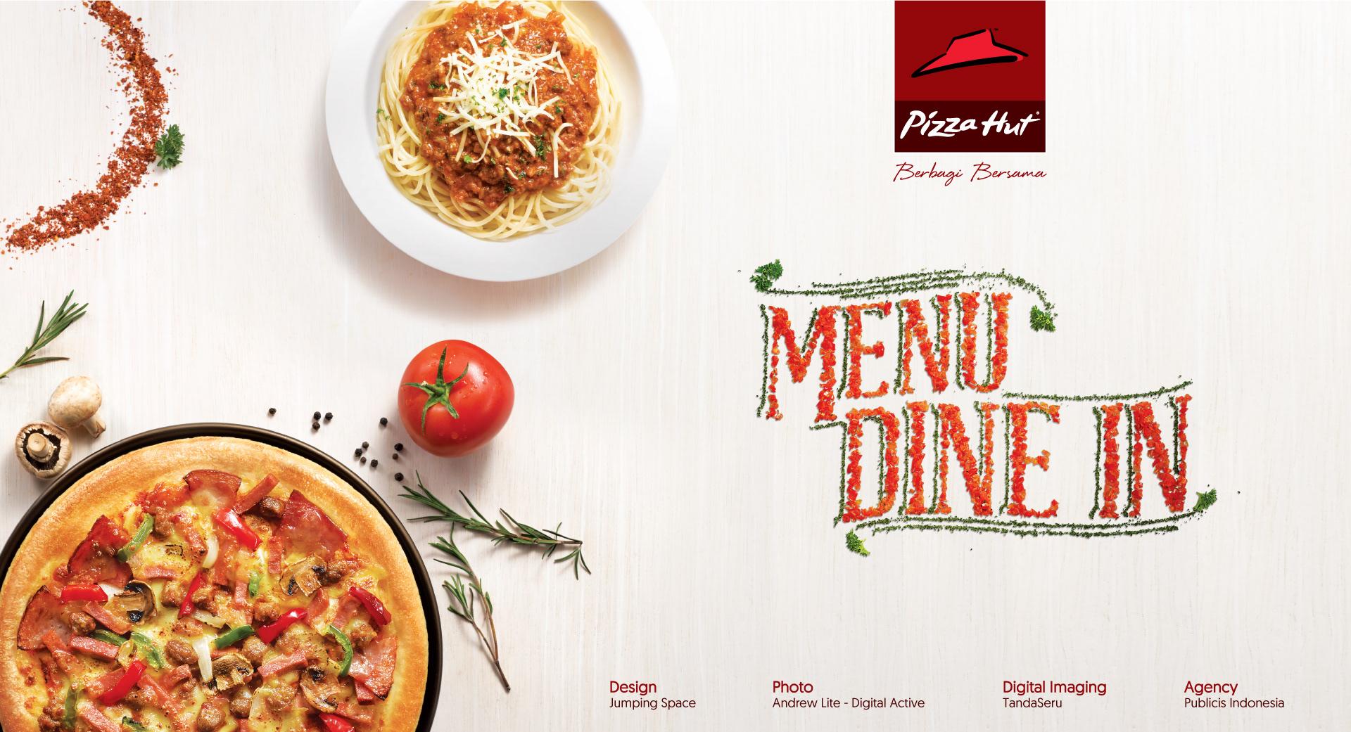 Jumping Space - Pizza Hut   Dine In Menu Book