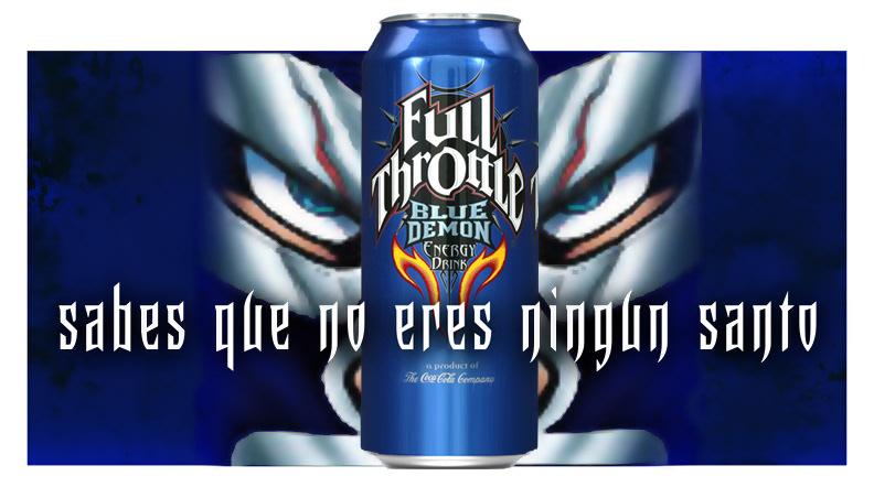 target market of full throttle blue demon