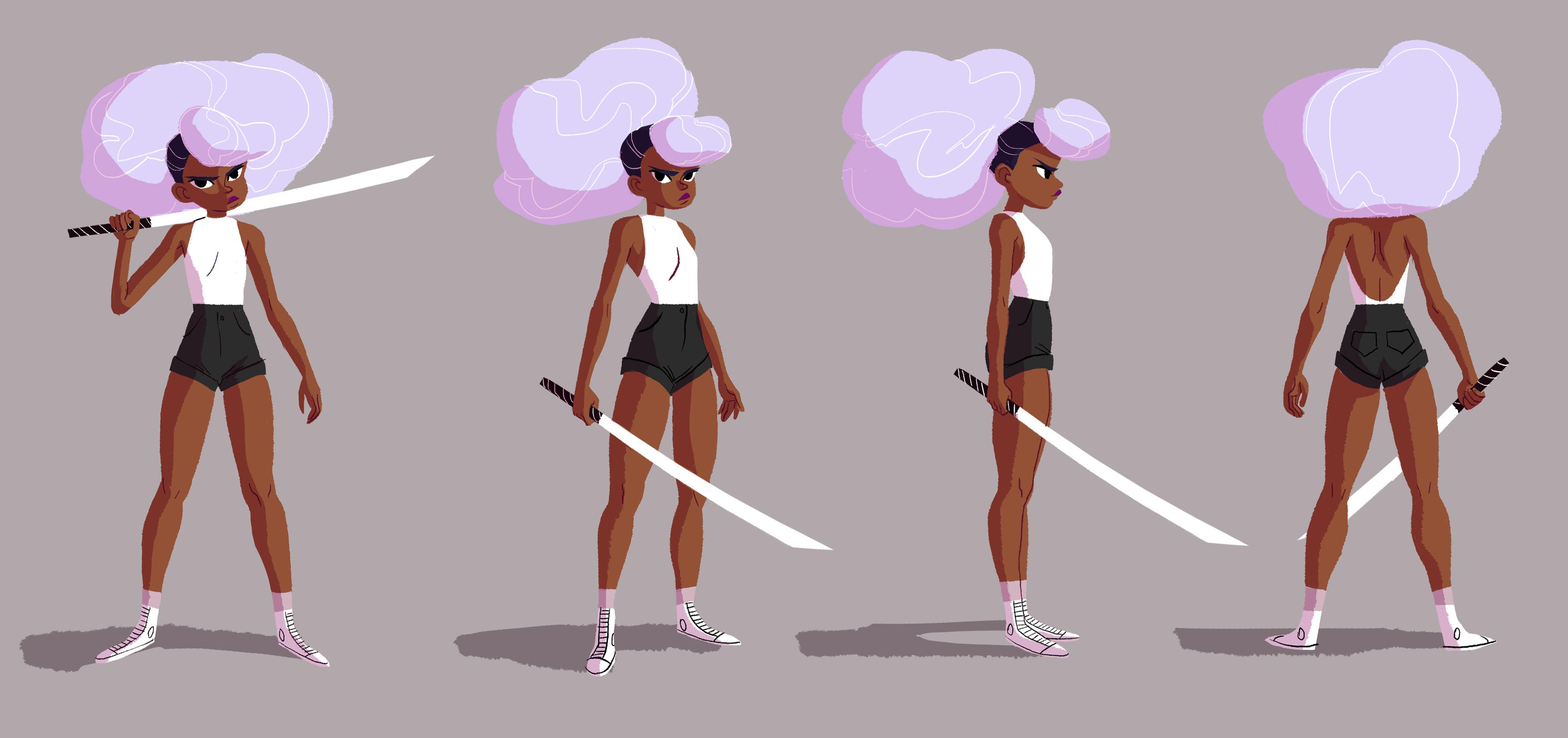 marika cowan character design