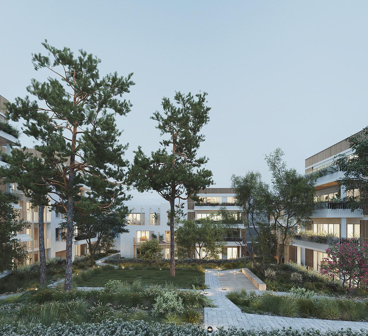 Noisy Le Grand Architecture vincentvacker - woodeum/quinton/saroam-noisy le grand
