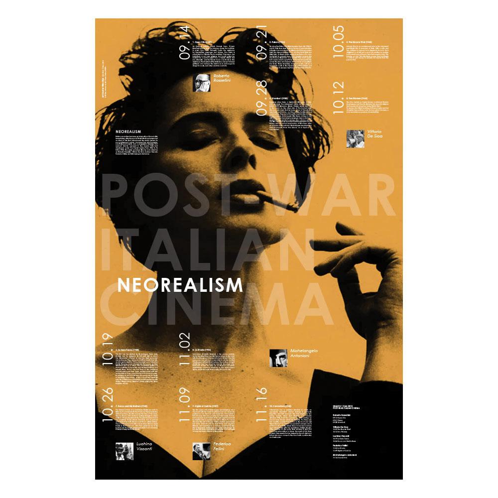 Neorealism: Neorealism Film Club Poster