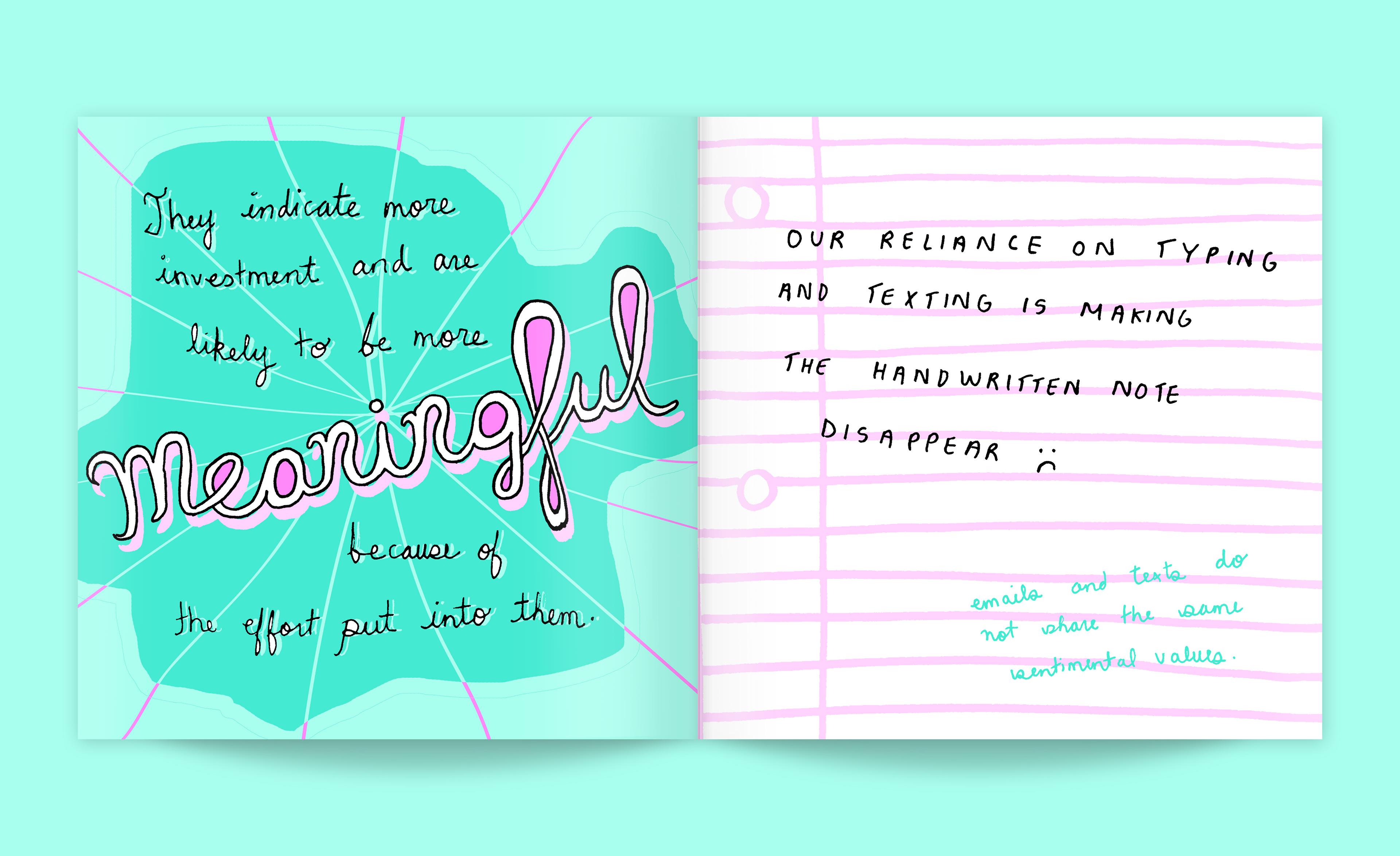 Jane Gardner Design - The Lost Art of Handwritten Communication
